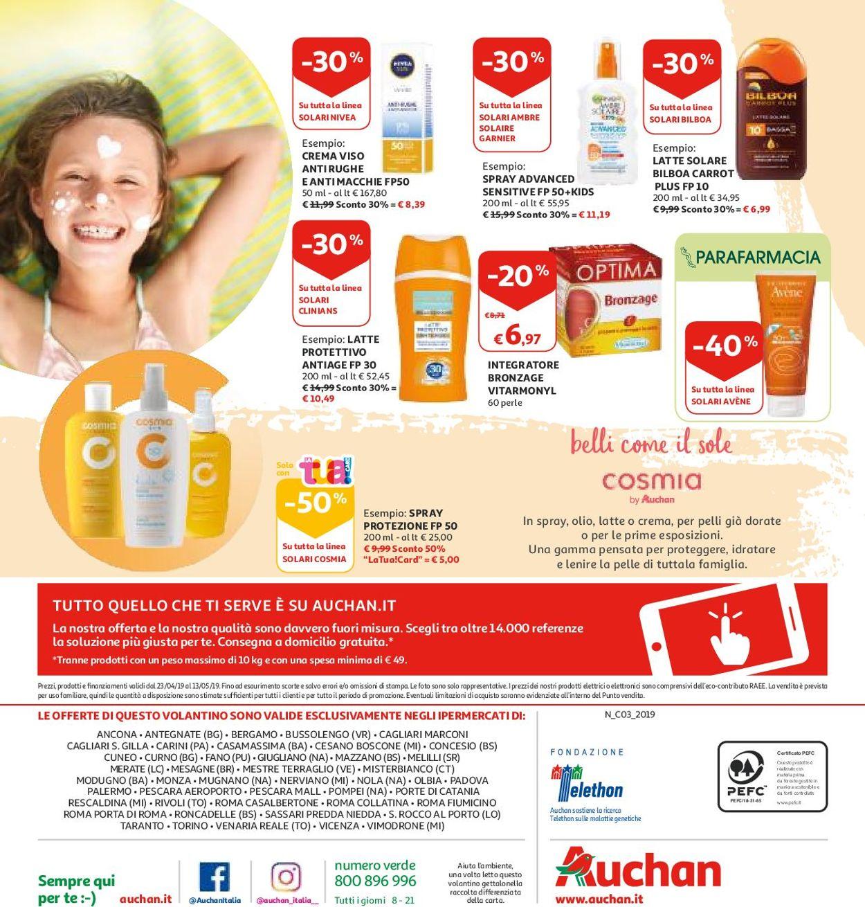 Volantino Auchan - Offerte 23/04-13/05/2019 (Pagina 24)