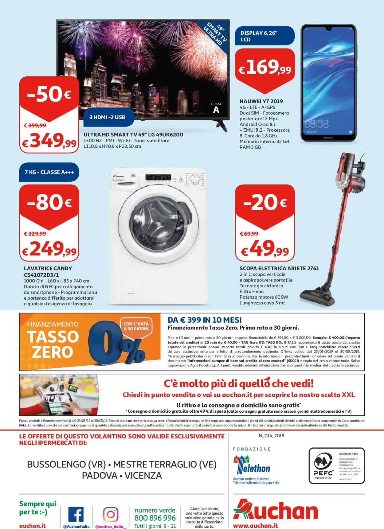 Volantino Auchan - Offerte 23/05-30/05/2019 (Pagina 32)