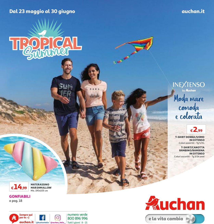 Volantino Auchan - Offerte 23/05-30/06/2019