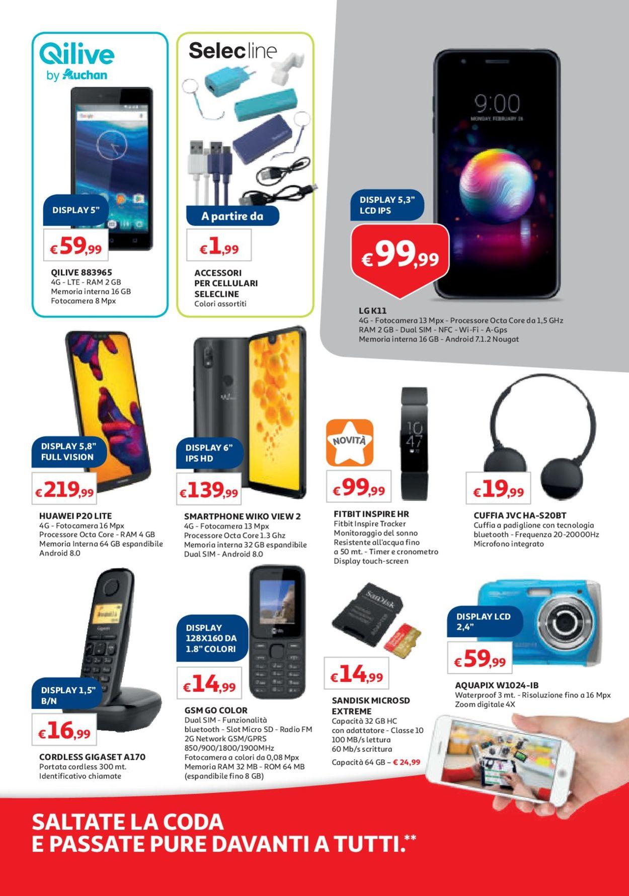 Volantino Auchan - Offerte 31/05-10/06/2019 (Pagina 29)