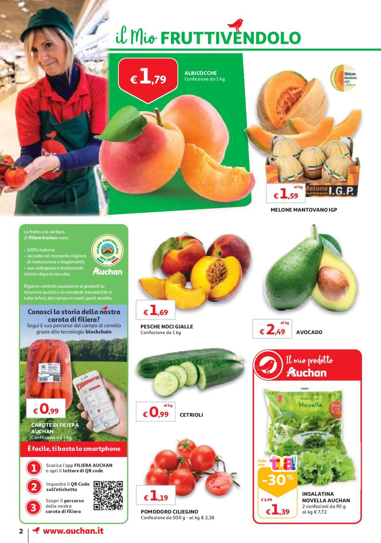 Volantino Auchan - Offerte 11/06-19/06/2019 (Pagina 2)