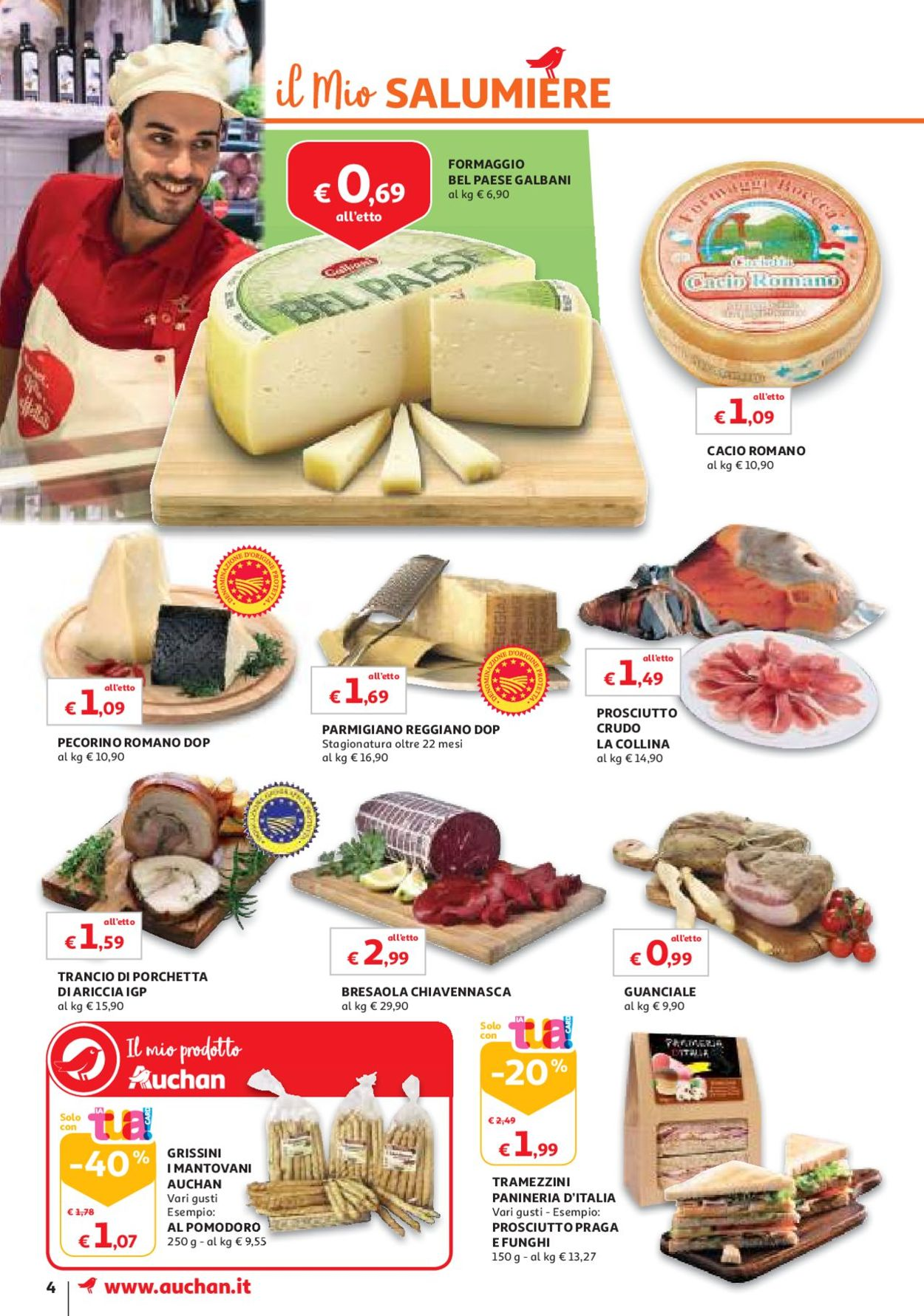 Volantino Auchan - Offerte 11/06-19/06/2019 (Pagina 4)