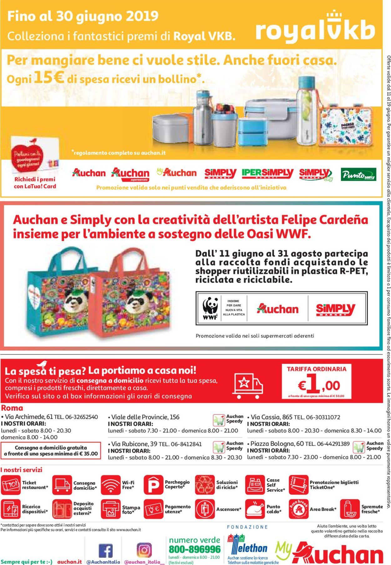 Volantino Auchan - Offerte 11/06-19/06/2019 (Pagina 8)