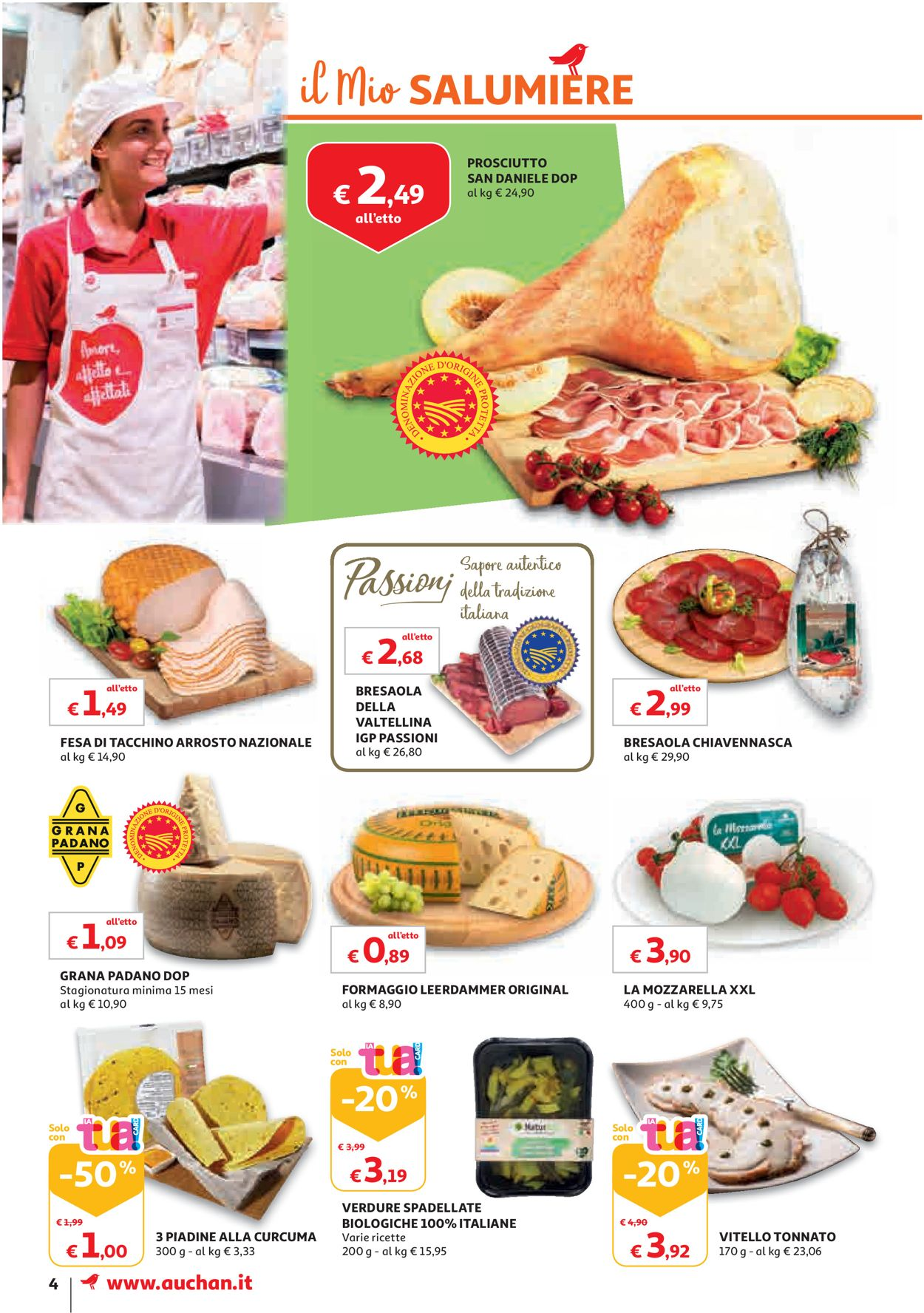 Volantino Auchan - Offerte 23/07-31/07/2019 (Pagina 4)