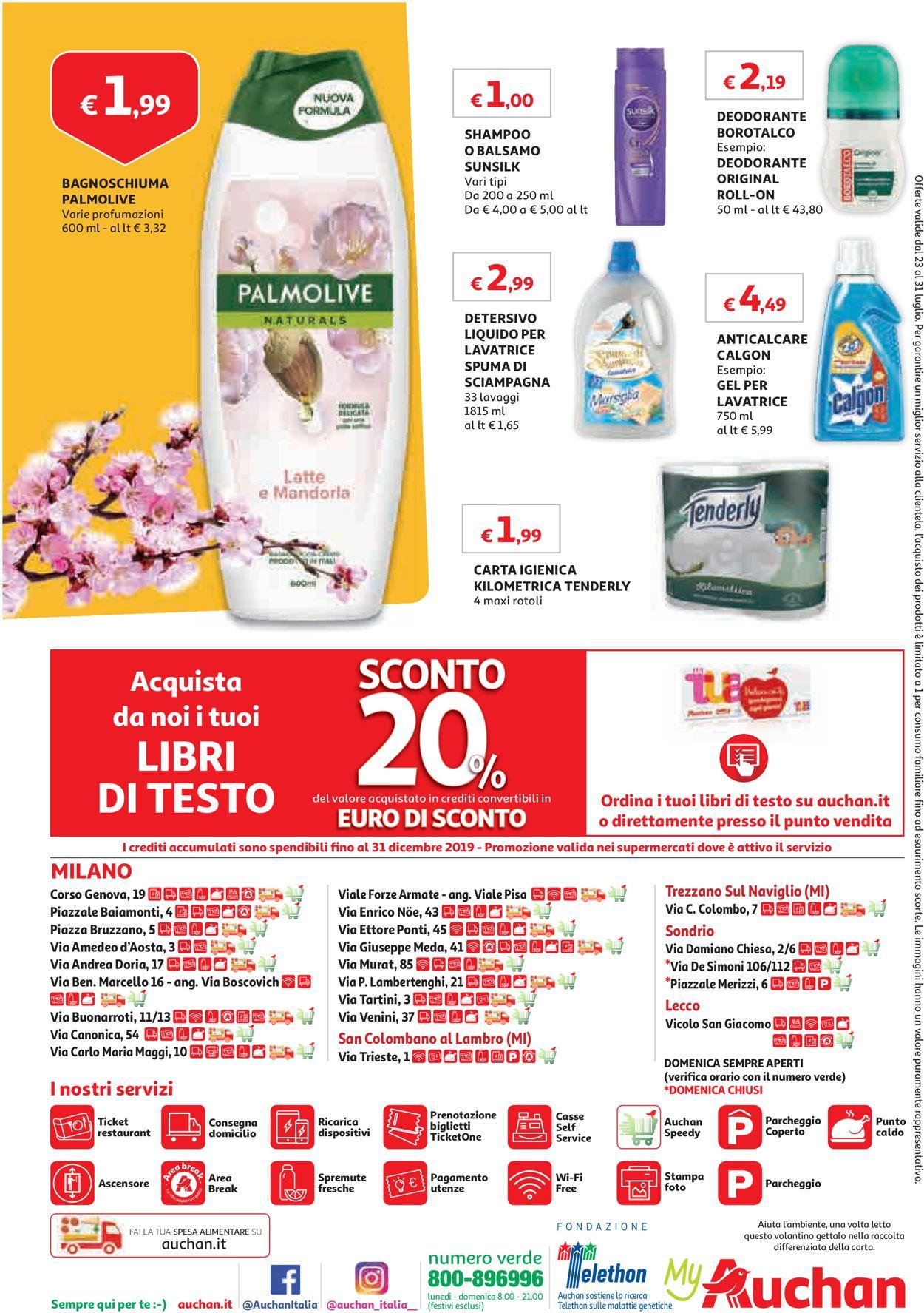 Volantino Auchan - Offerte 23/07-31/07/2019 (Pagina 8)