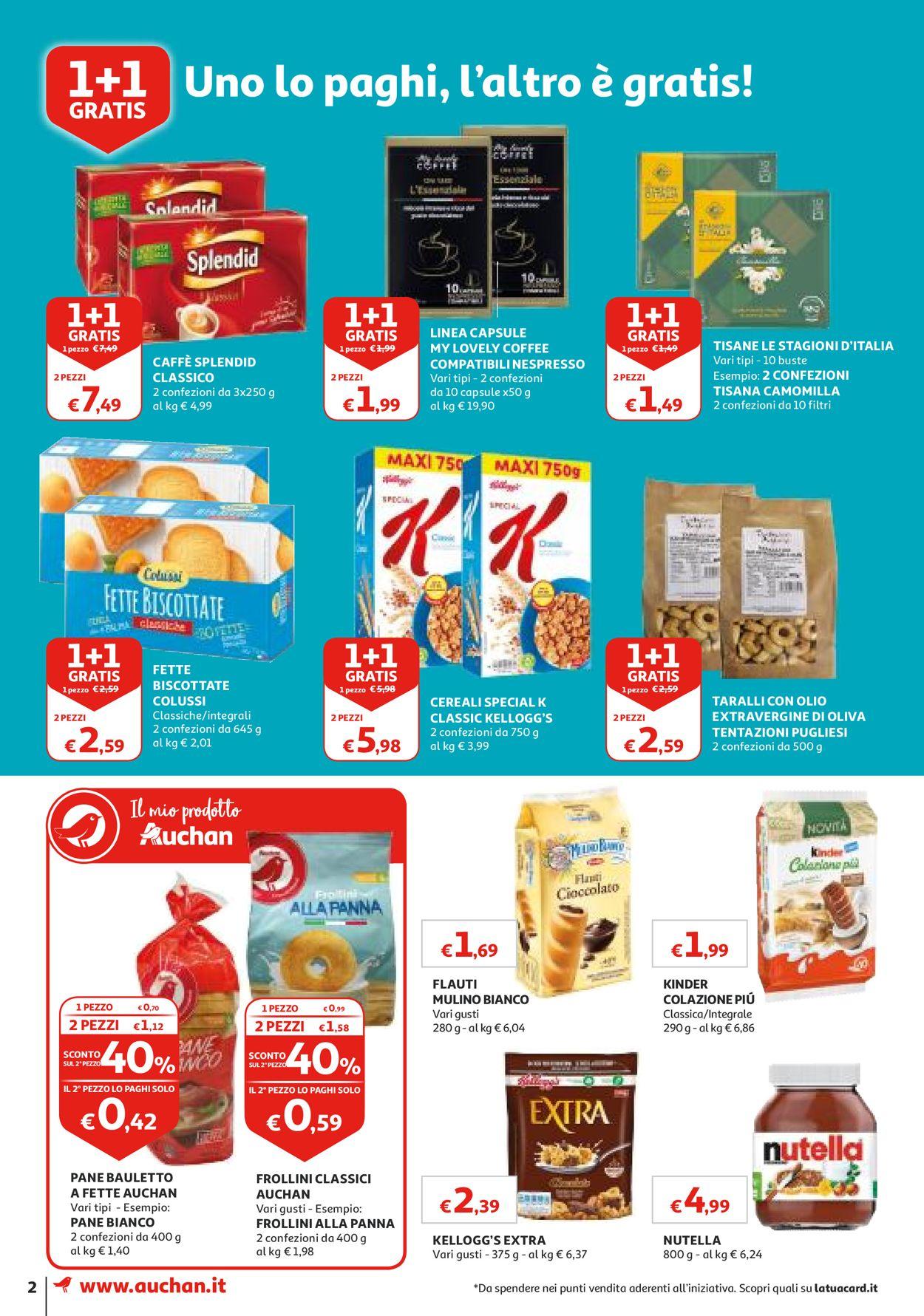 Volantino Auchan - Offerte 23/07-31/07/2019 (Pagina 2)