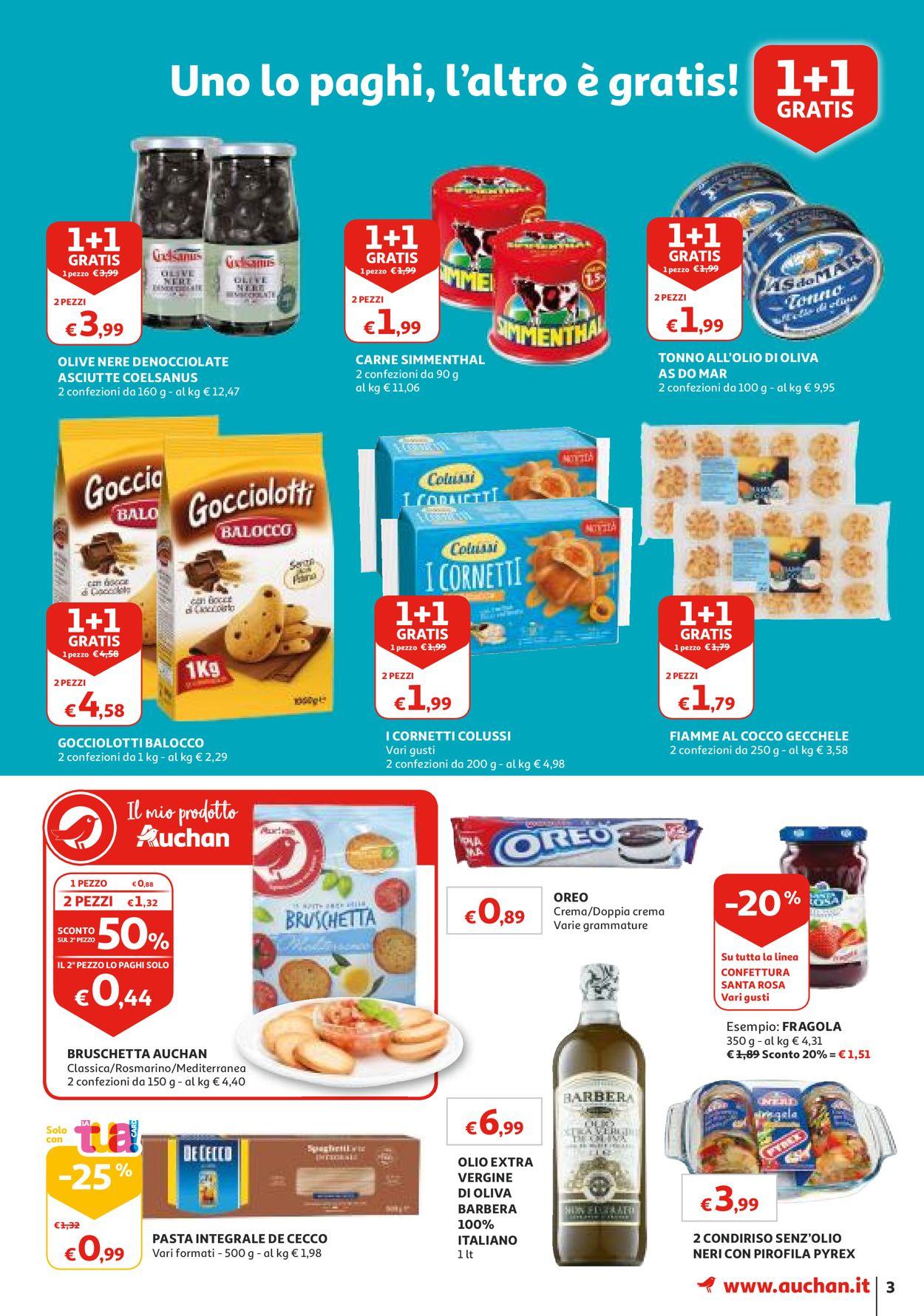 Volantino Auchan - Offerte 23/07-31/07/2019 (Pagina 3)