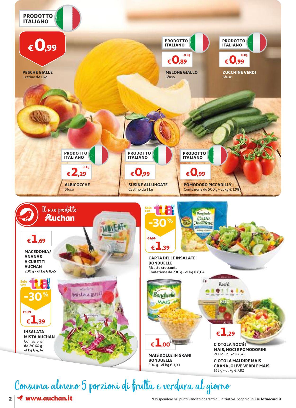 Volantino Auchan - Offerte 01/08-08/08/2019 (Pagina 2)