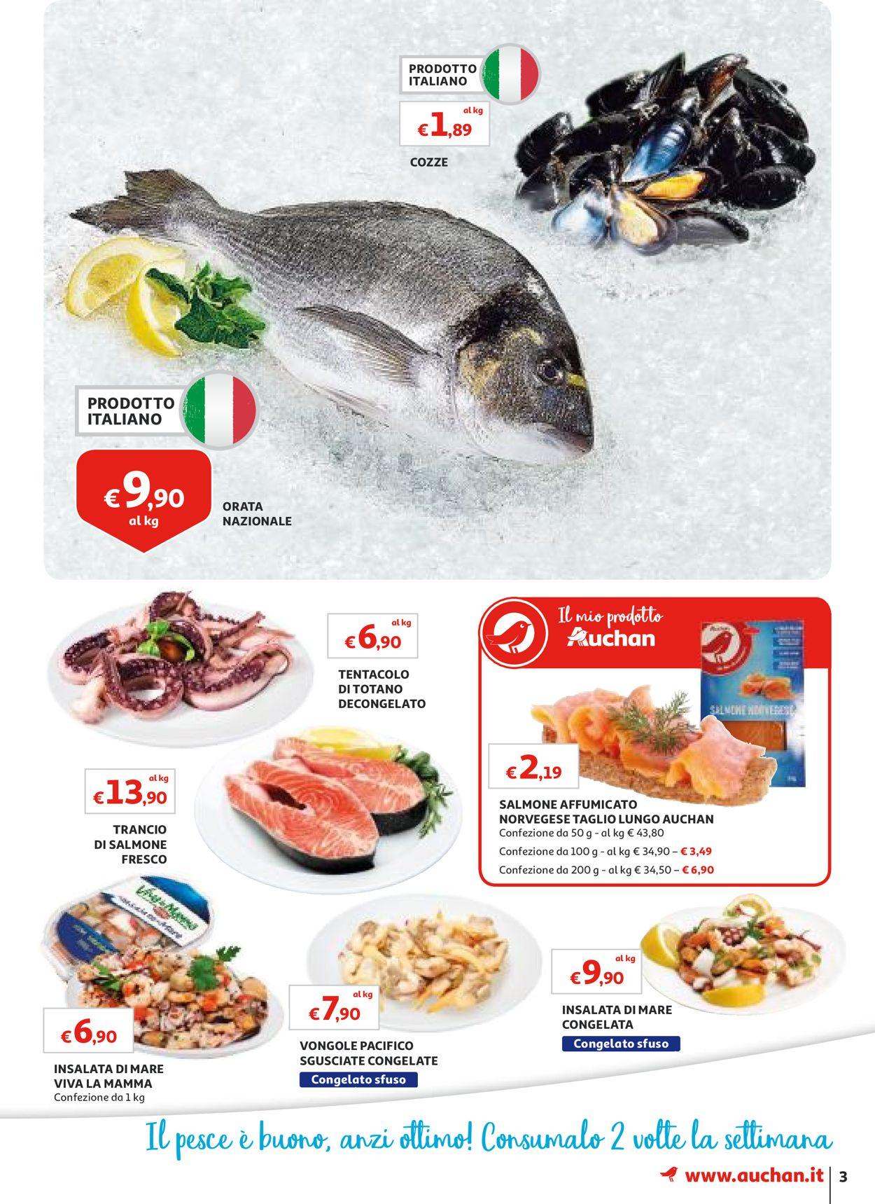 Volantino Auchan - Offerte 01/08-08/08/2019 (Pagina 3)