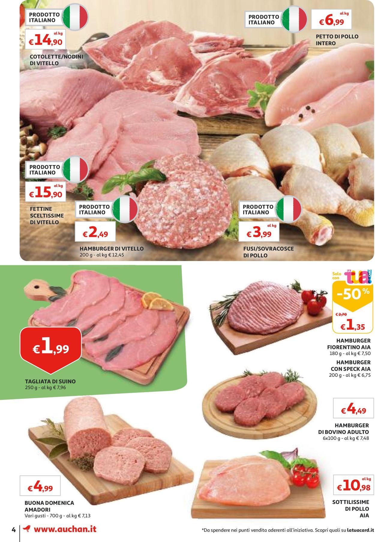 Volantino Auchan - Offerte 01/08-08/08/2019 (Pagina 4)