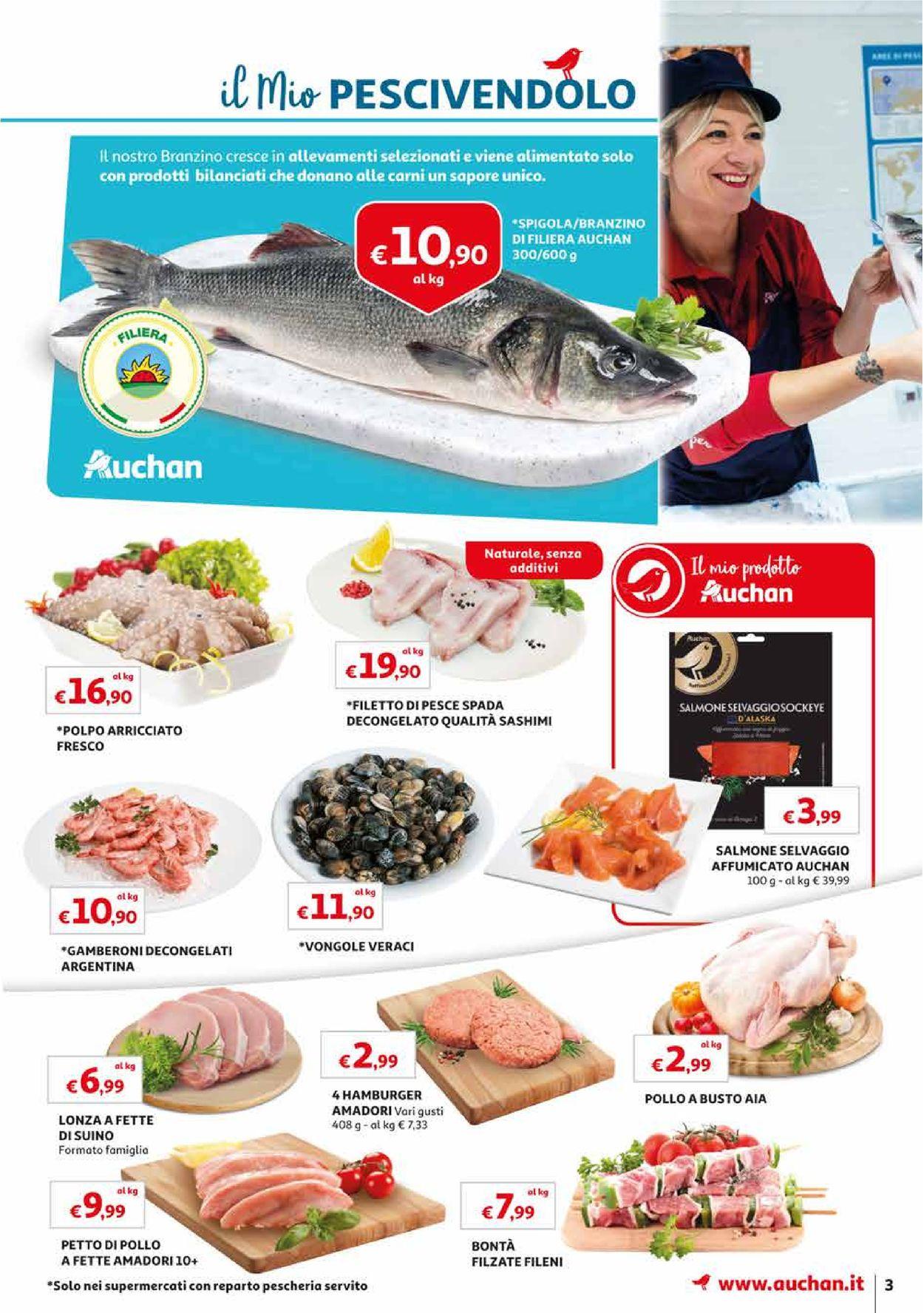Volantino Auchan - Offerte 09/08-19/08/2019 (Pagina 3)