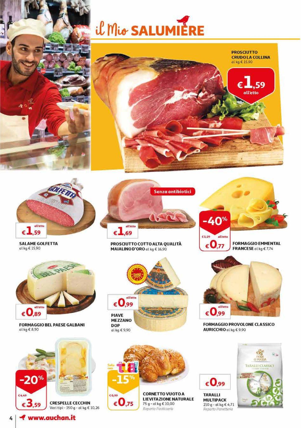 Volantino Auchan - Offerte 09/08-19/08/2019 (Pagina 4)