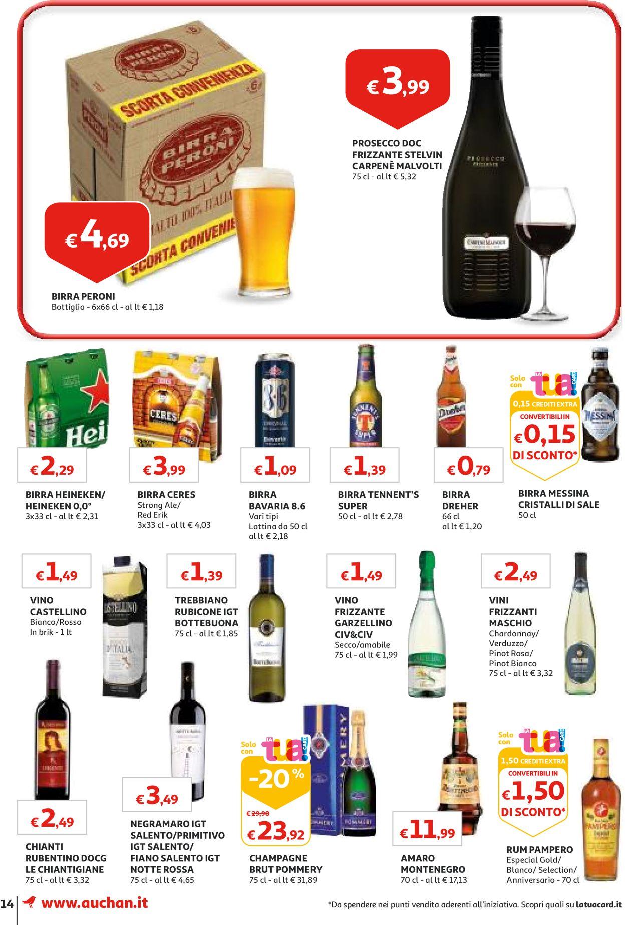 Volantino Auchan - Offerte 20/08-28/08/2019 (Pagina 14)