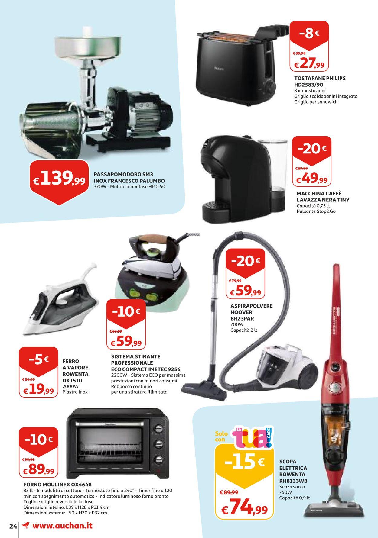 Volantino Auchan - Offerte 20/08-28/08/2019 (Pagina 24)