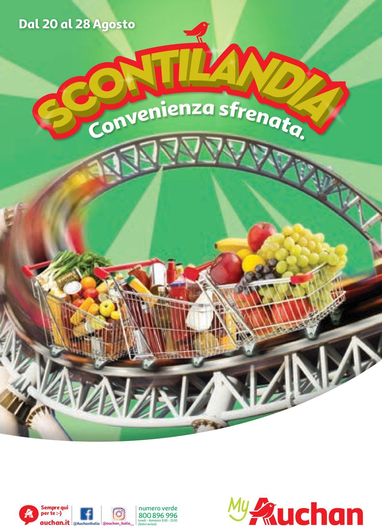 Volantino Auchan - Offerte 20/08-28/08/2019
