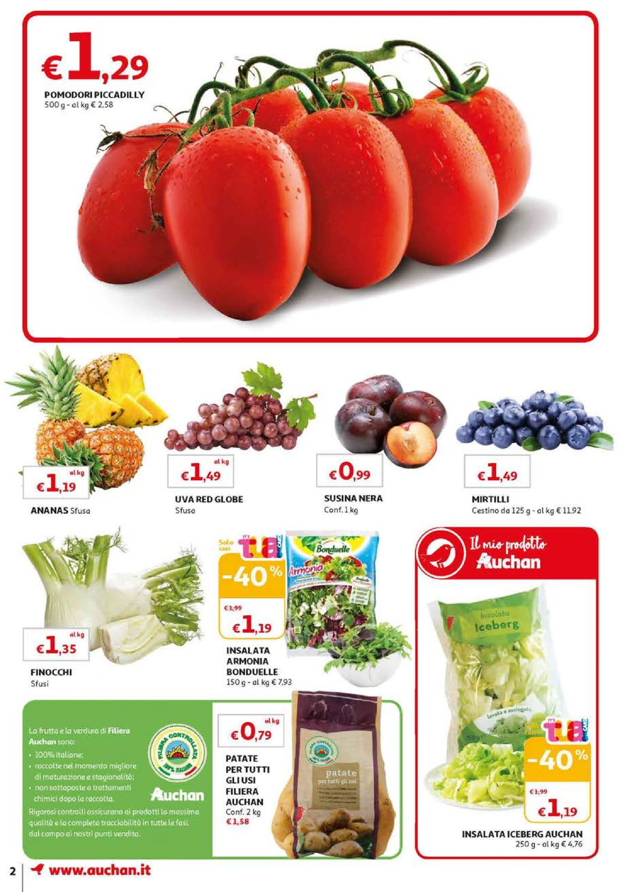 Volantino Auchan - Offerte 10/09-18/09/2019 (Pagina 2)