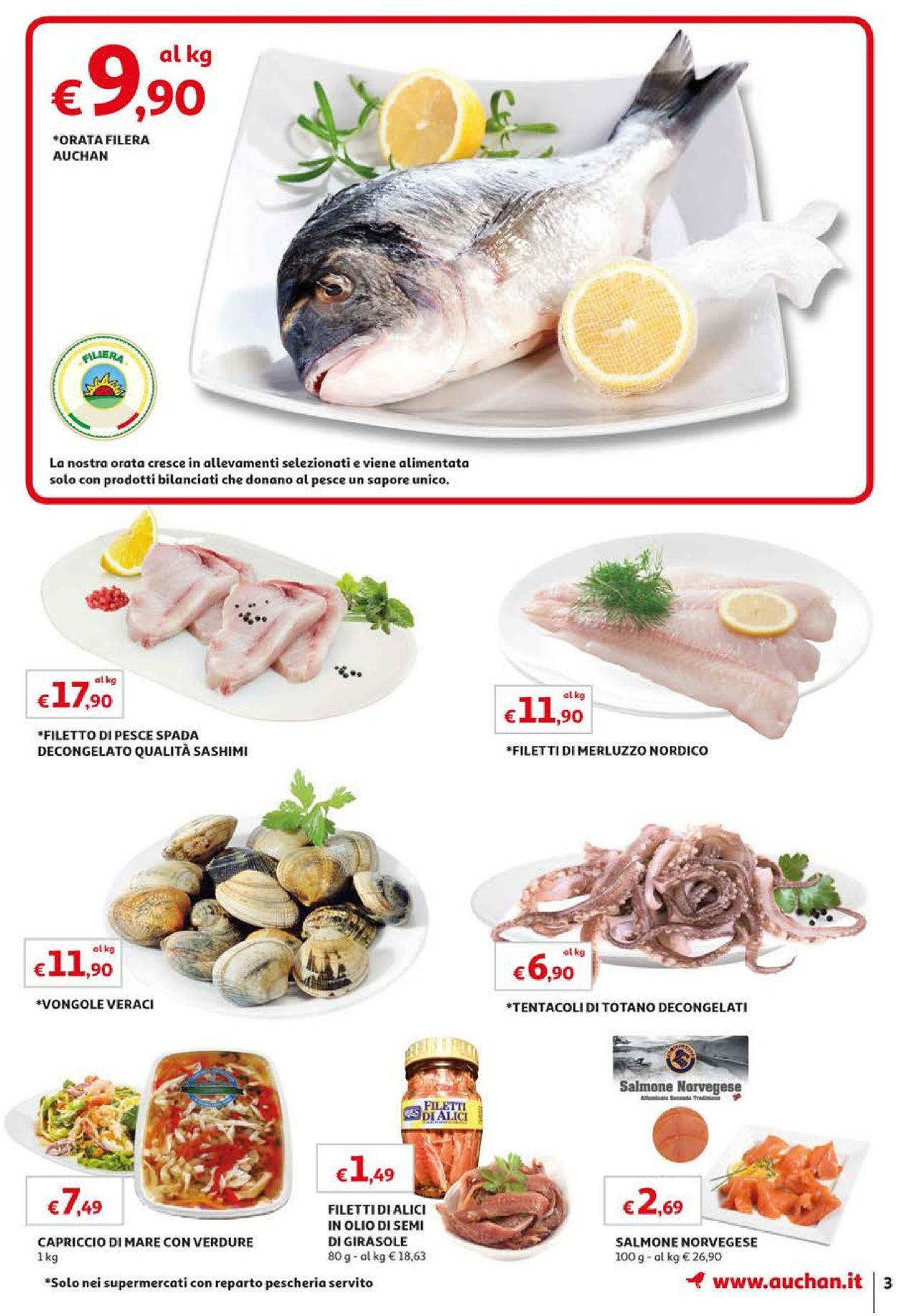 Volantino Auchan - Offerte 10/09-18/09/2019 (Pagina 3)