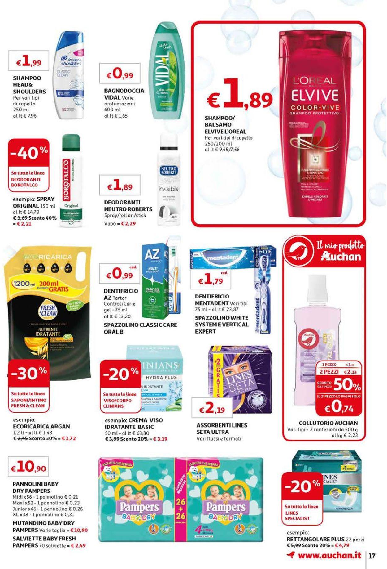 Volantino Auchan - Offerte 10/09-18/09/2019 (Pagina 17)