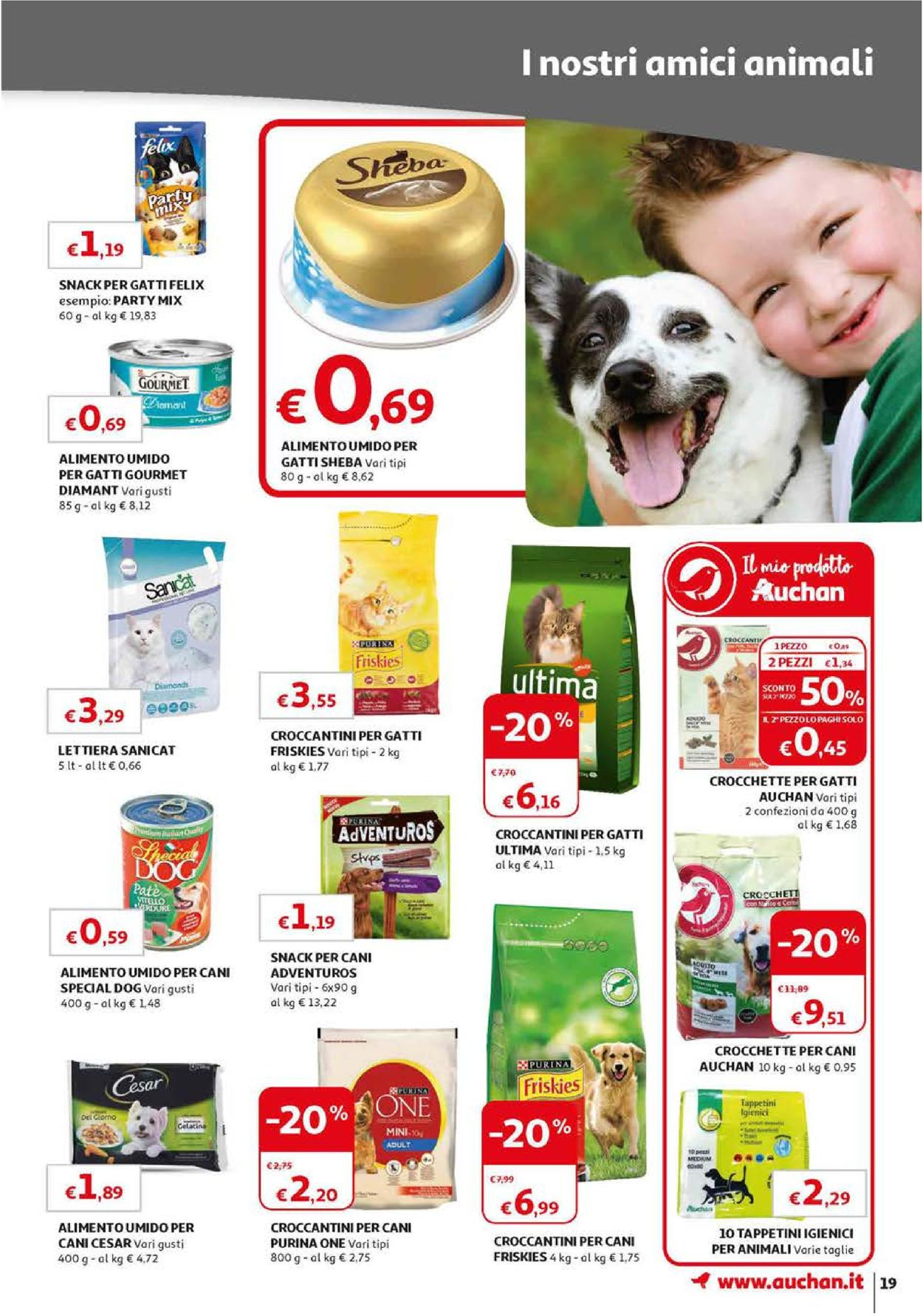 Volantino Auchan - Offerte 10/09-18/09/2019 (Pagina 19)