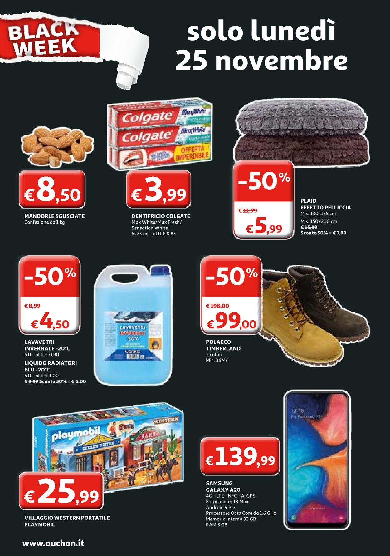 Volantino Auchan Black Friday 2019 - Offerte 25/11-01/12/2019 (Pagina 2)