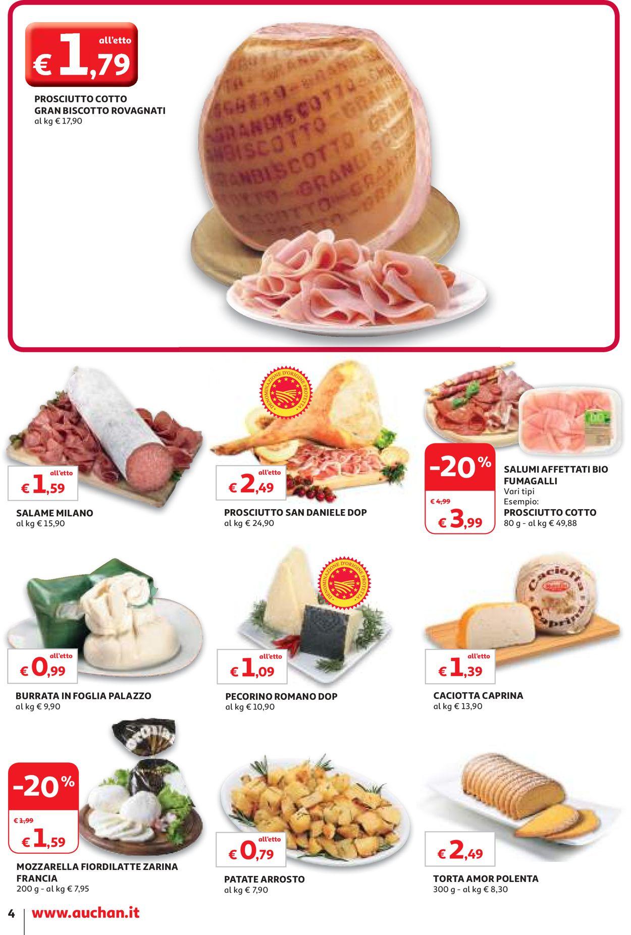Volantino Auchan - Offerte 02/12-12/12/2019 (Pagina 4)