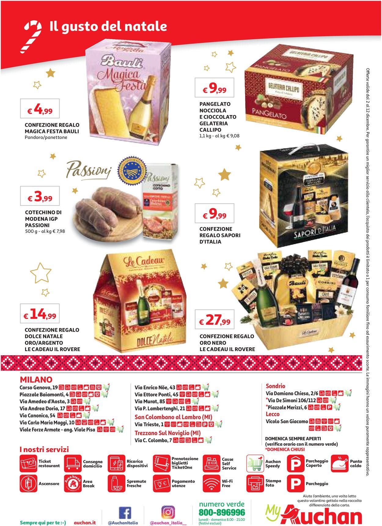 Volantino Auchan - Offerte 02/12-12/12/2019 (Pagina 12)