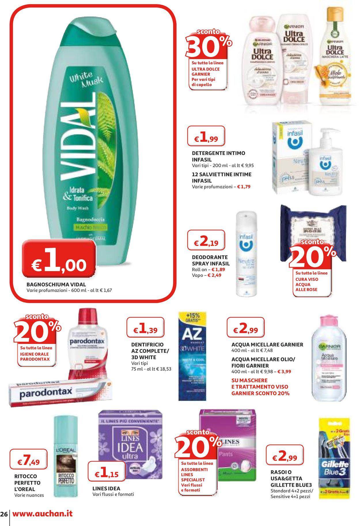 Volantino Auchan - Offerte 16/01-26/01/2020 (Pagina 26)