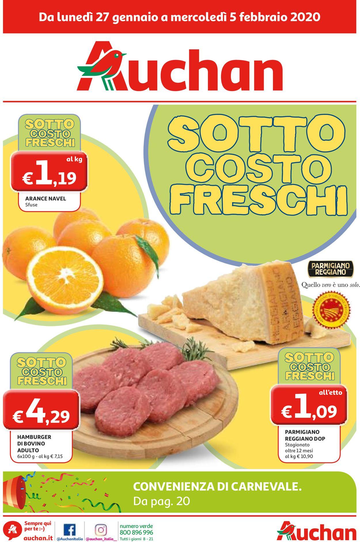 Volantino Auchan - Offerte 27/01-05/02/2020