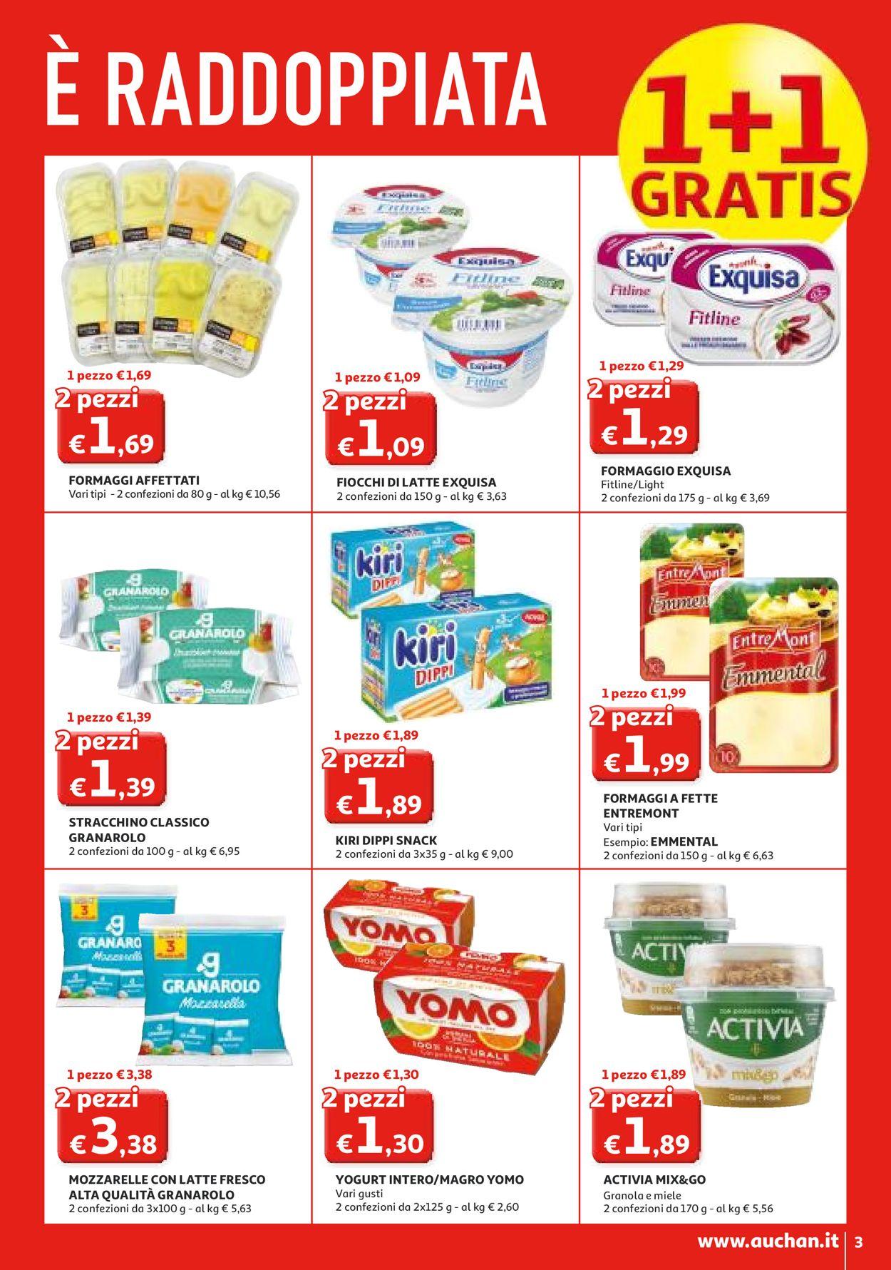 Volantino Auchan - Offerte 27/02-08/03/2020 (Pagina 3)