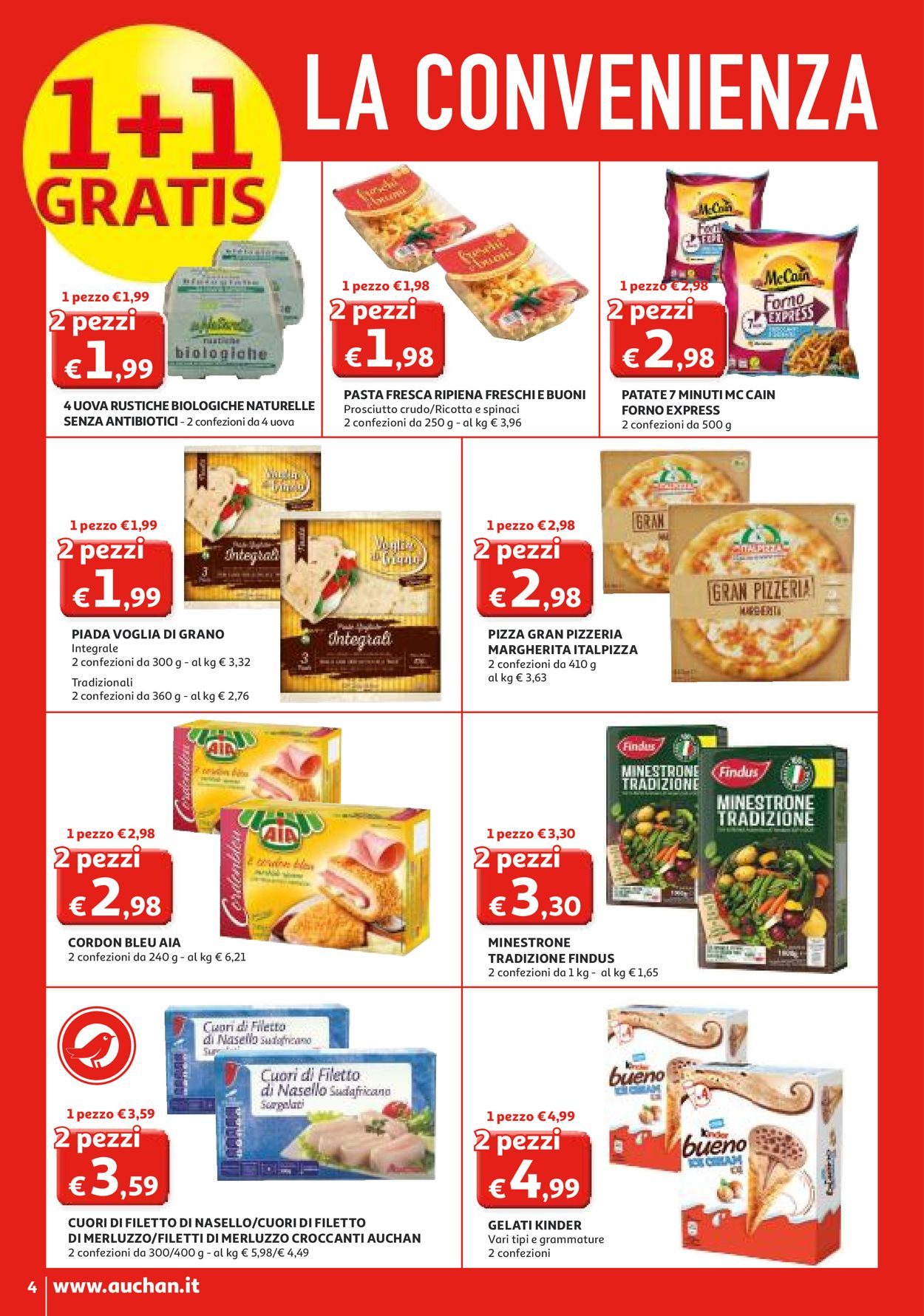 Volantino Auchan - Offerte 27/02-08/03/2020 (Pagina 4)