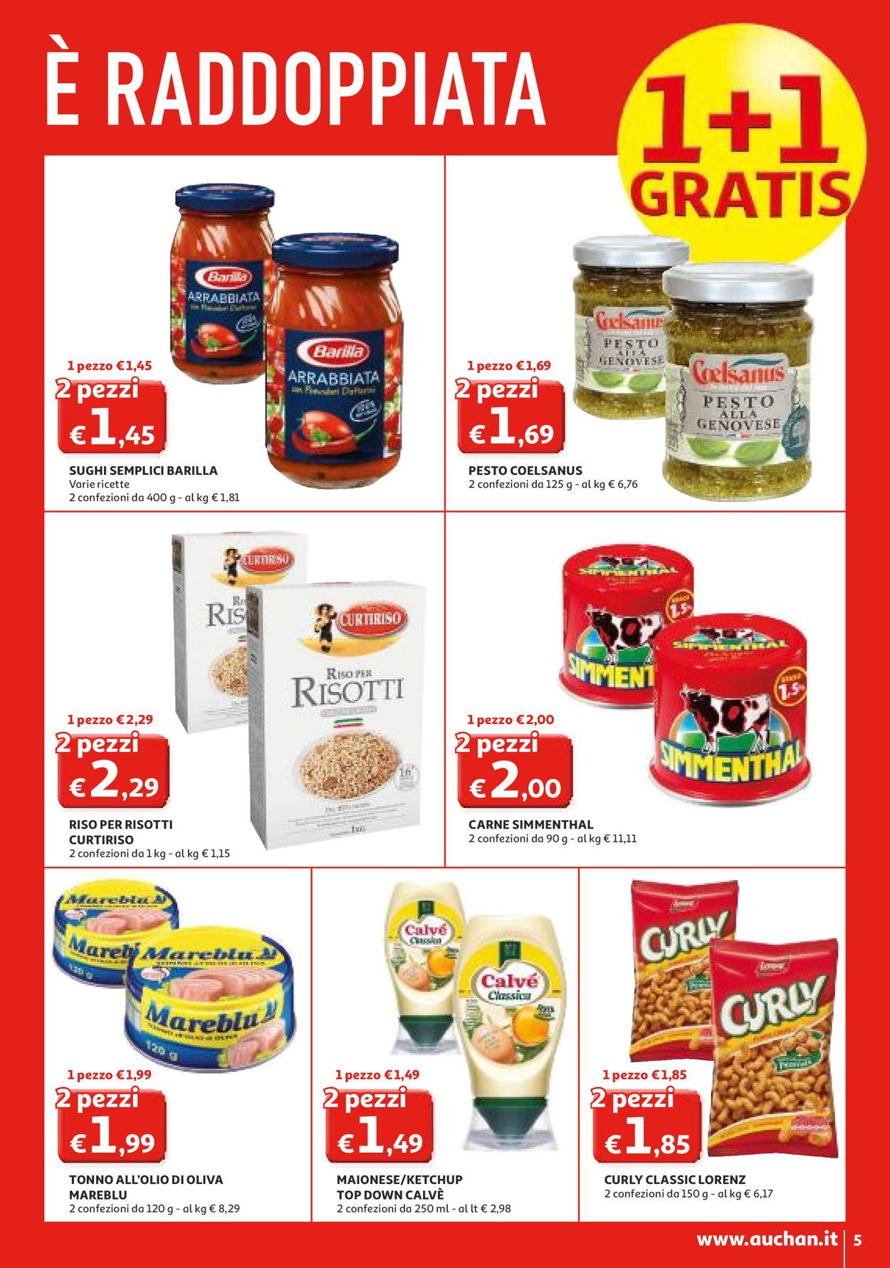 Volantino Auchan - Offerte 27/02-08/03/2020 (Pagina 5)
