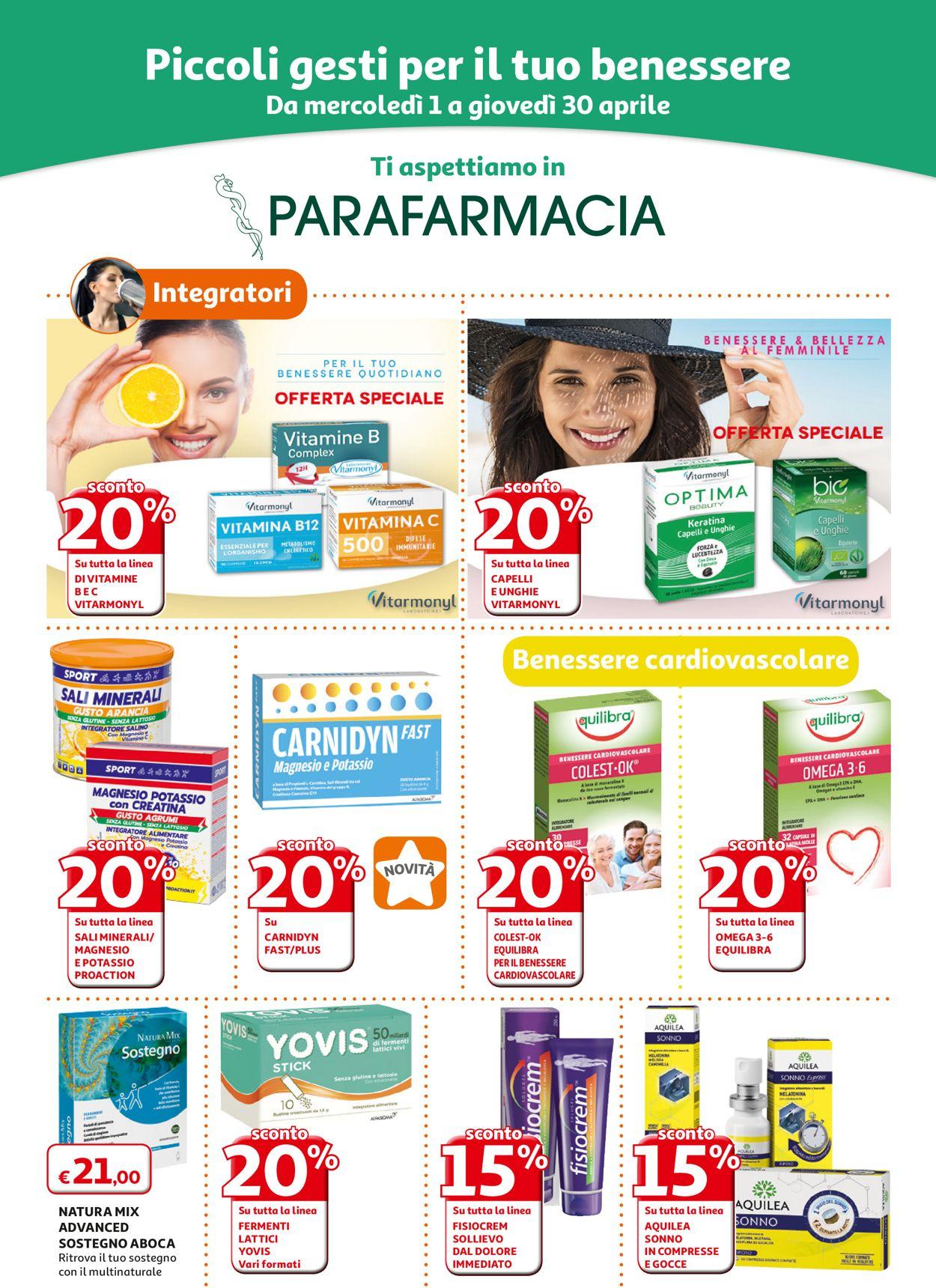 Volantino Auchan - Offerte 01/04-30/04/2020