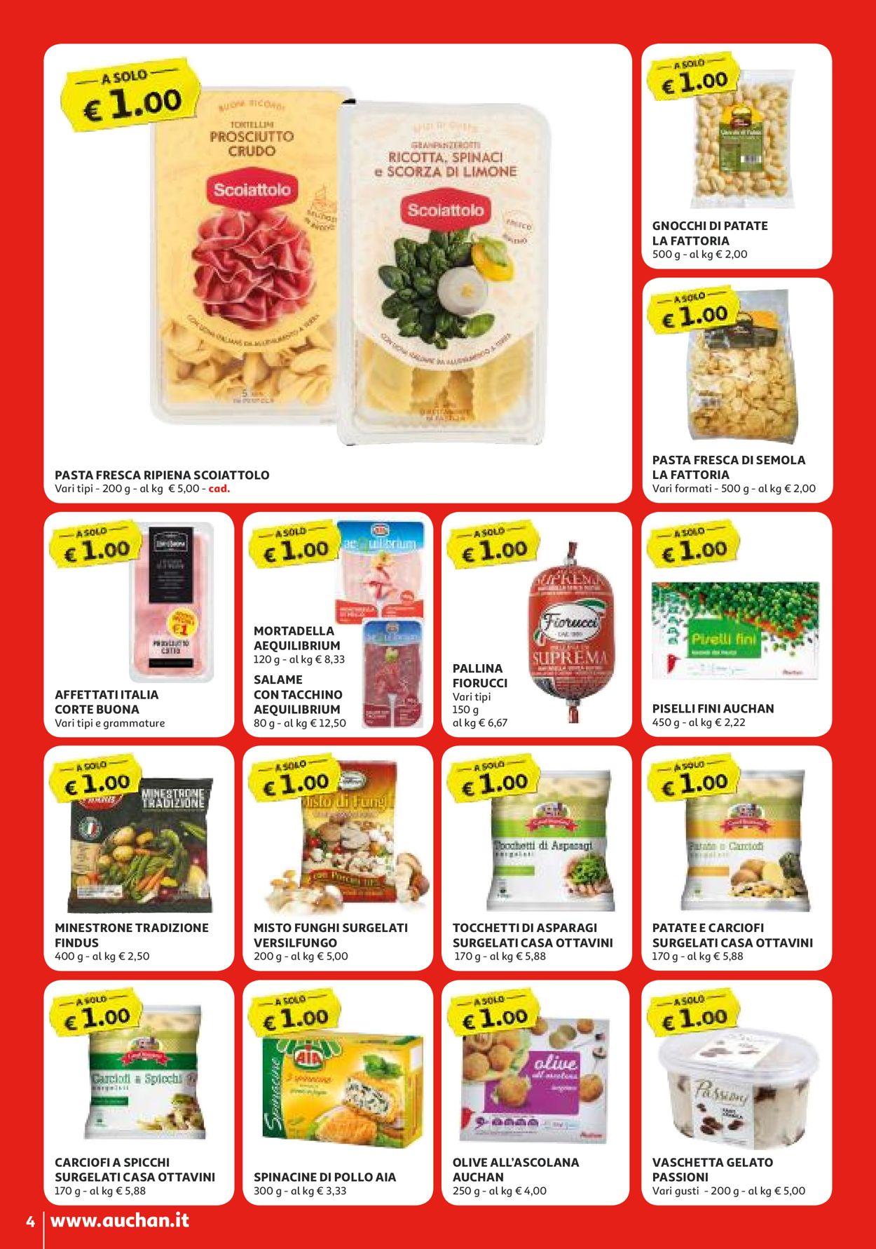 Volantino Auchan - Offerte 14/04-22/04/2020 (Pagina 4)