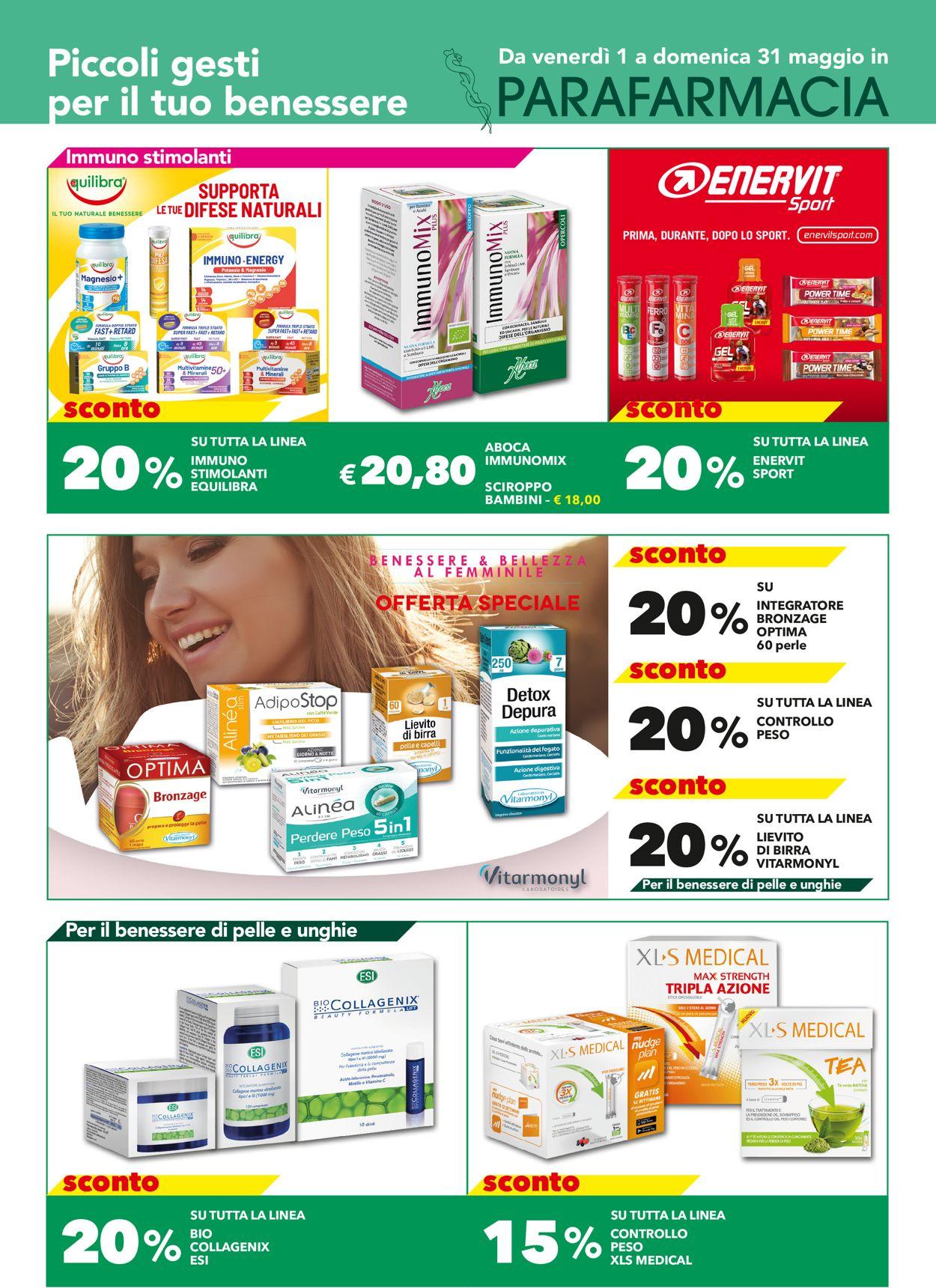 Volantino Auchan - Offerte 01/05-31/05/2020