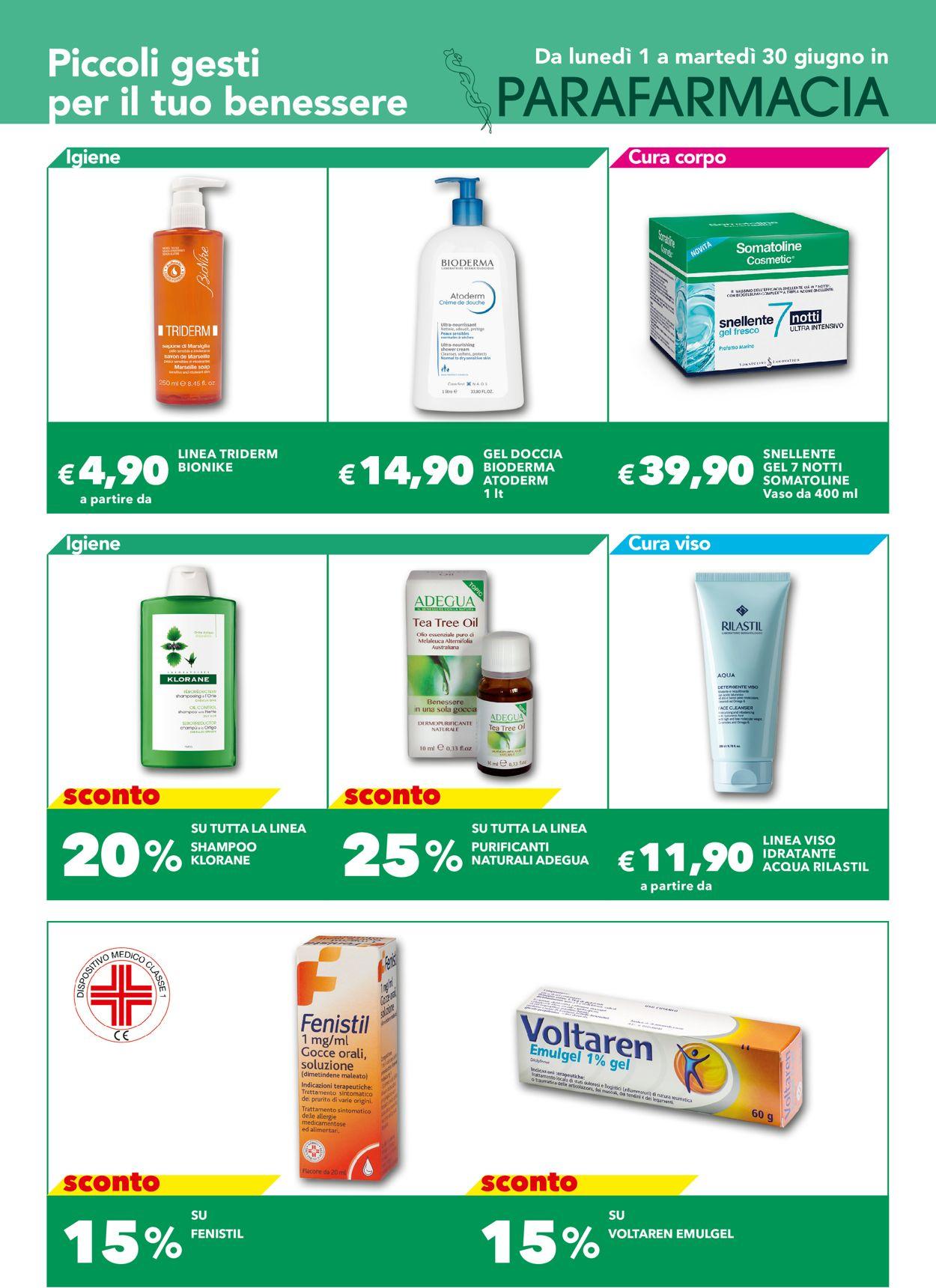 Volantino Auchan - Offerte 01/06-30/06/2020