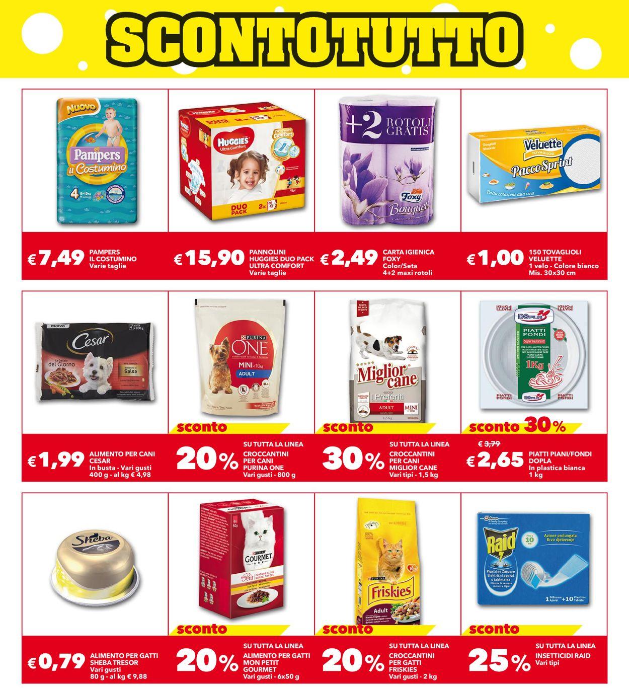 Volantino Auchan - Offerte 30/07-12/08/2020 (Pagina 13)