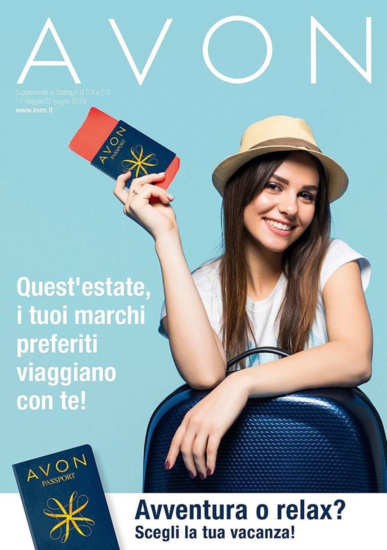 Volantino Avon - Offerte 17/05-27/06/2019