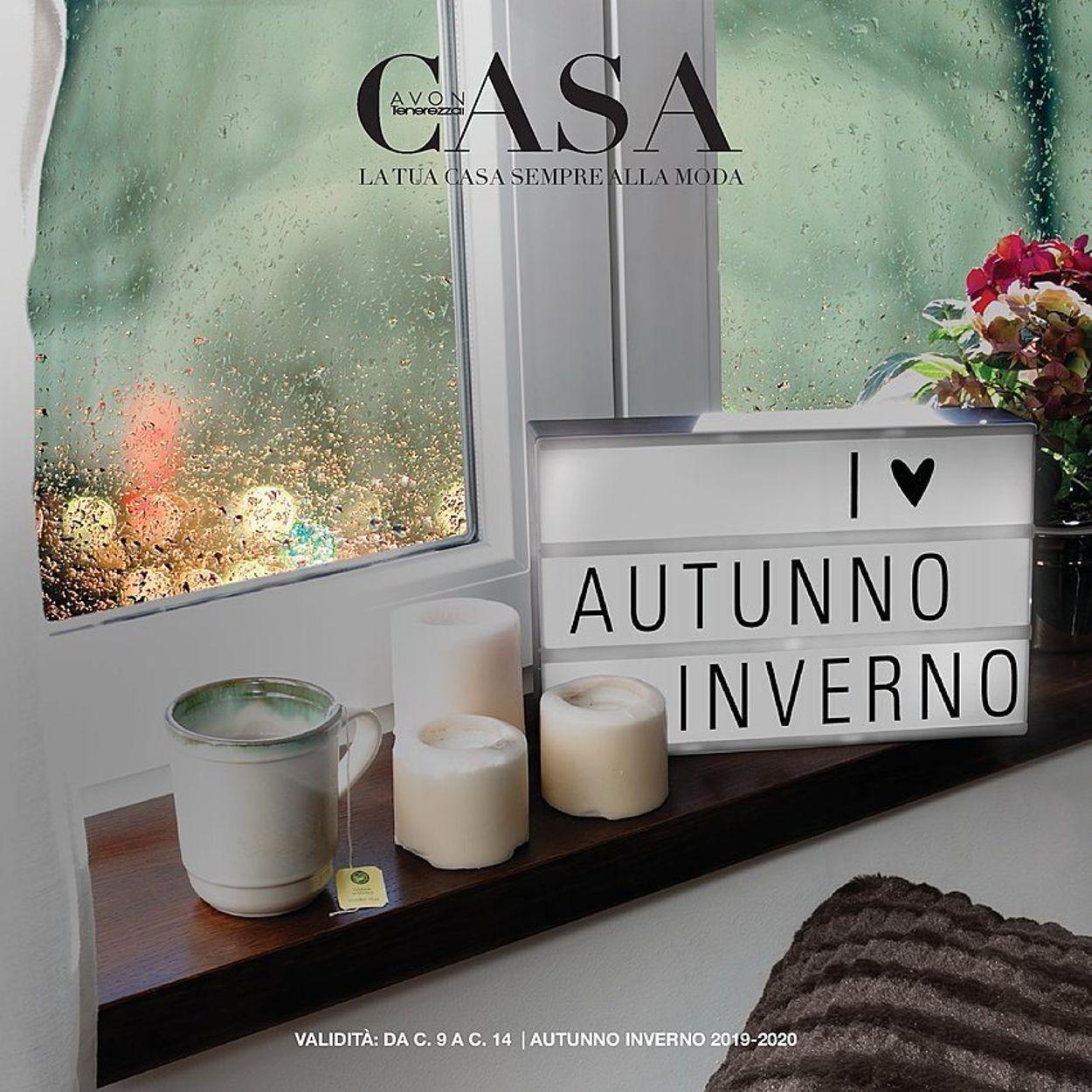 Volantino Avon - Offerte 01/09-31/01/2020
