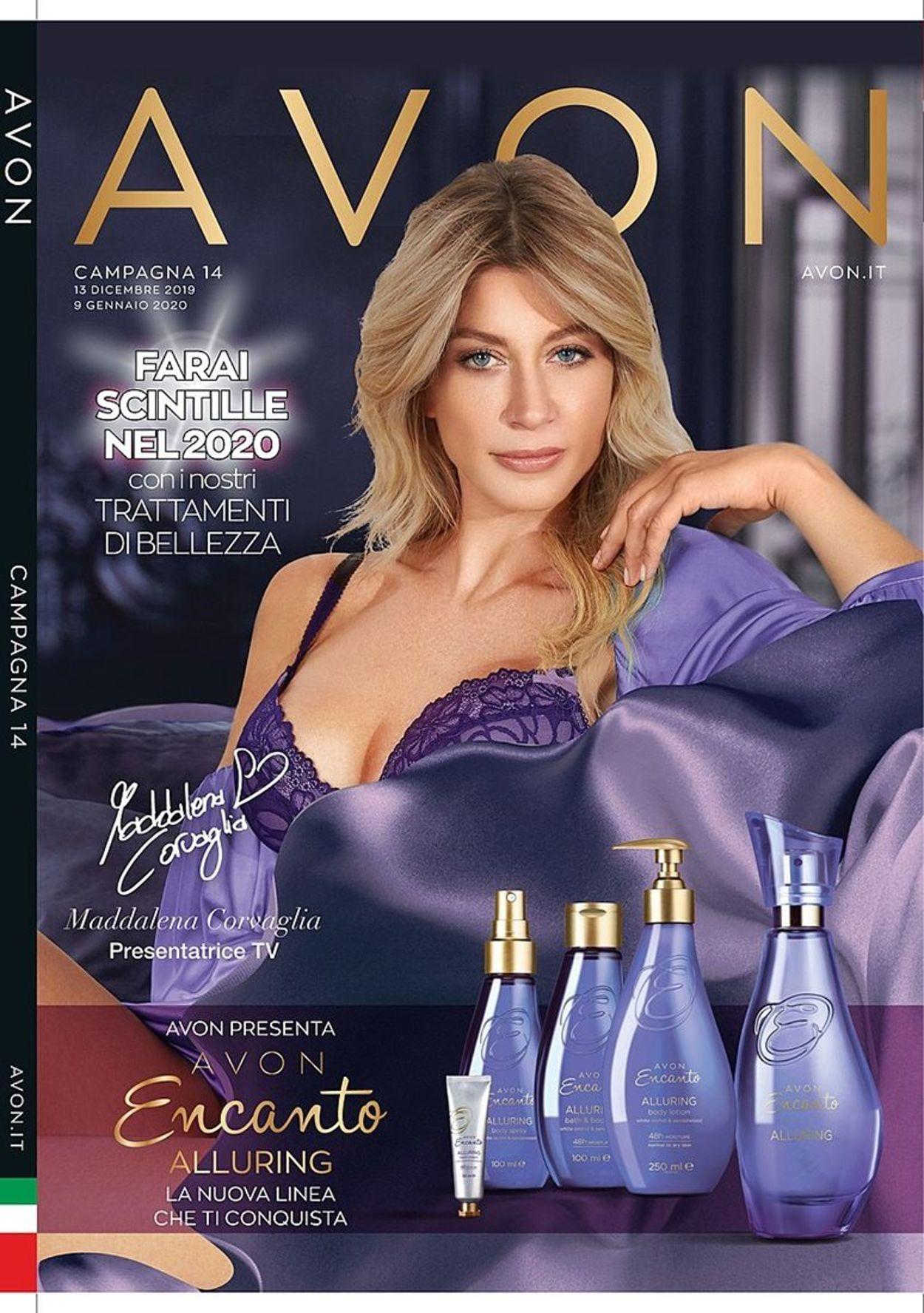 Volantino Il volantino natalizio di Avon - Offerte 13/12-09/01/2020