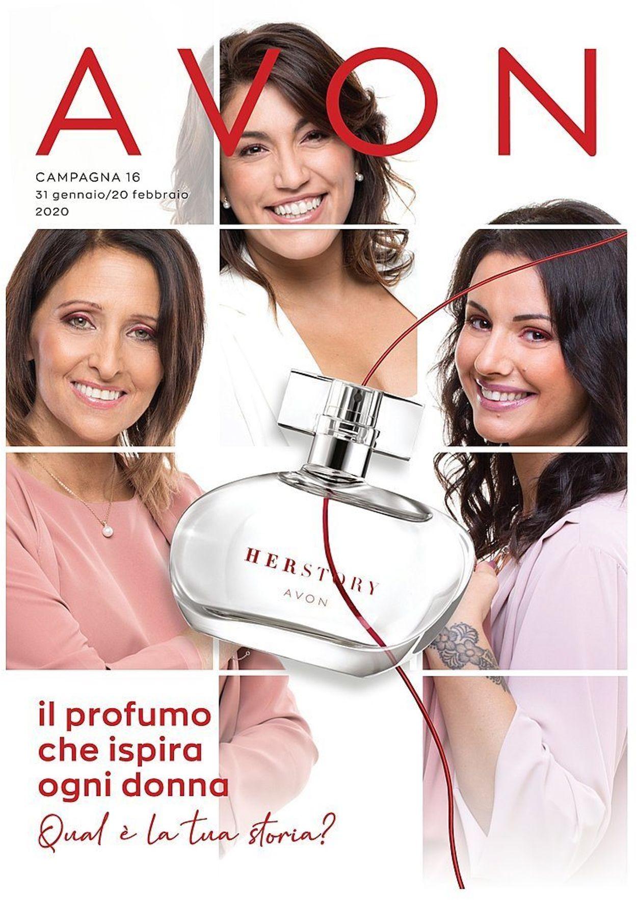 Volantino Avon - Offerte 31/01-20/02/2020