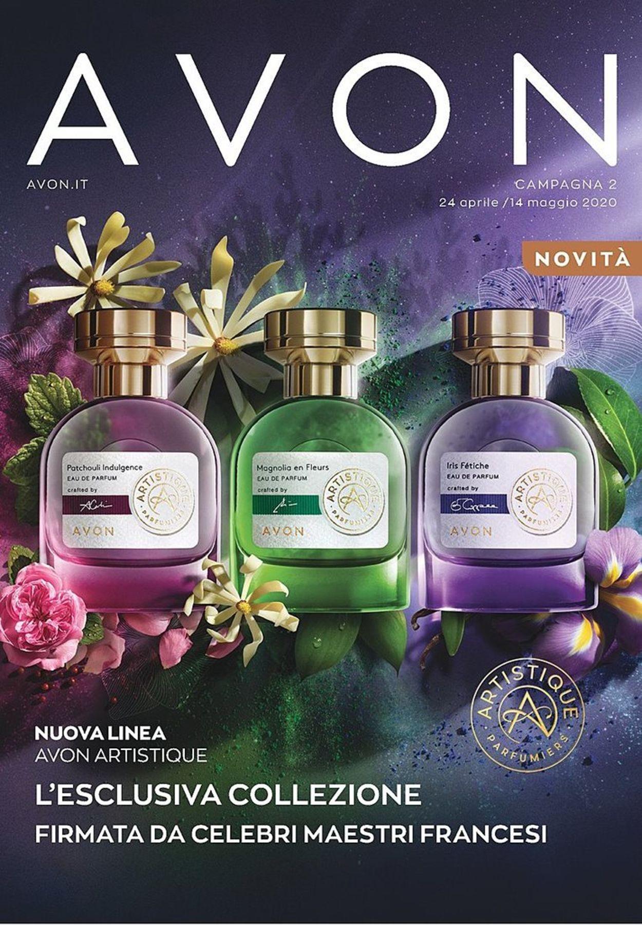 Volantino Avon - Offerte 24/04-14/05/2020