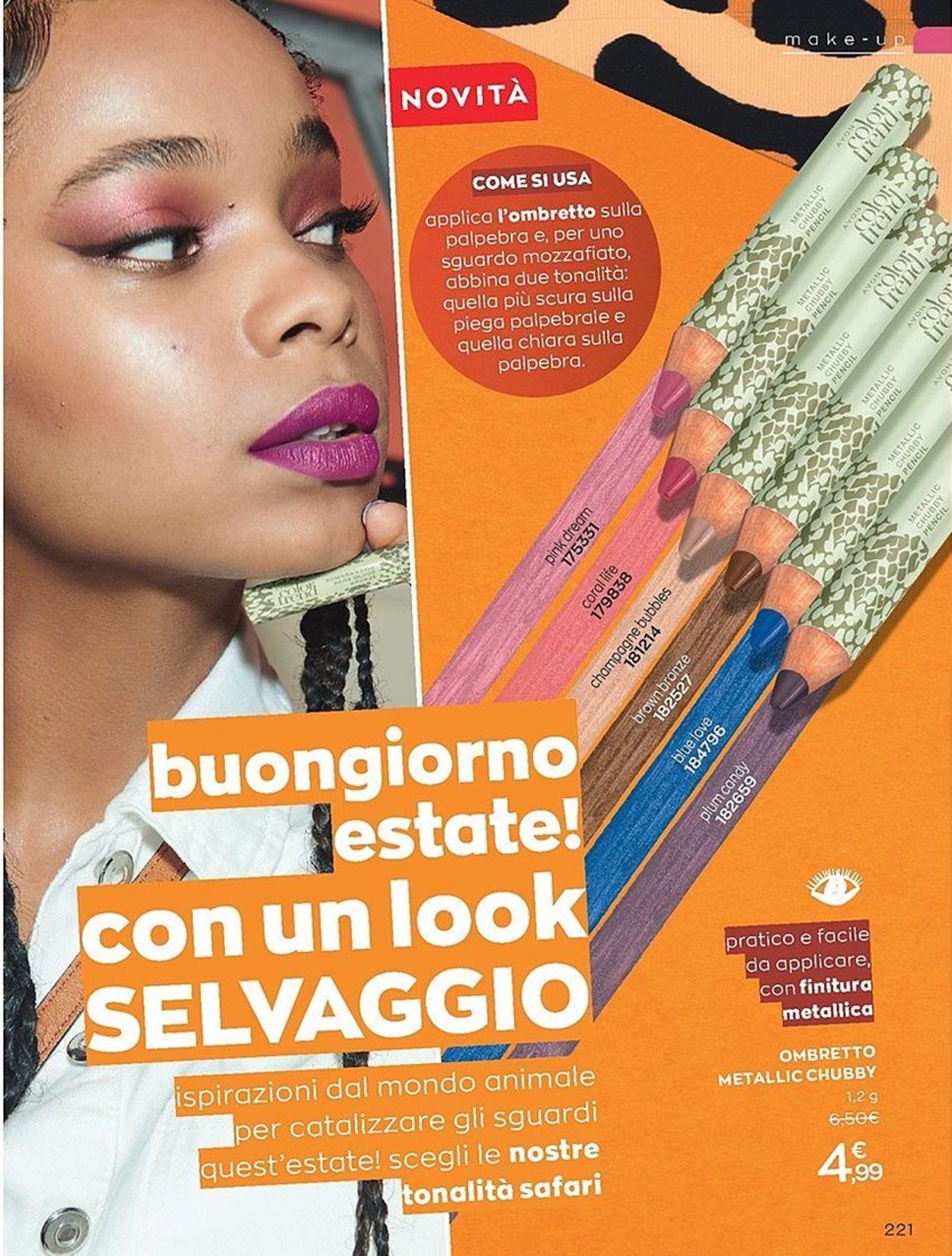 Volantino Avon - Offerte 18/07-31/08/2020 (Pagina 224)