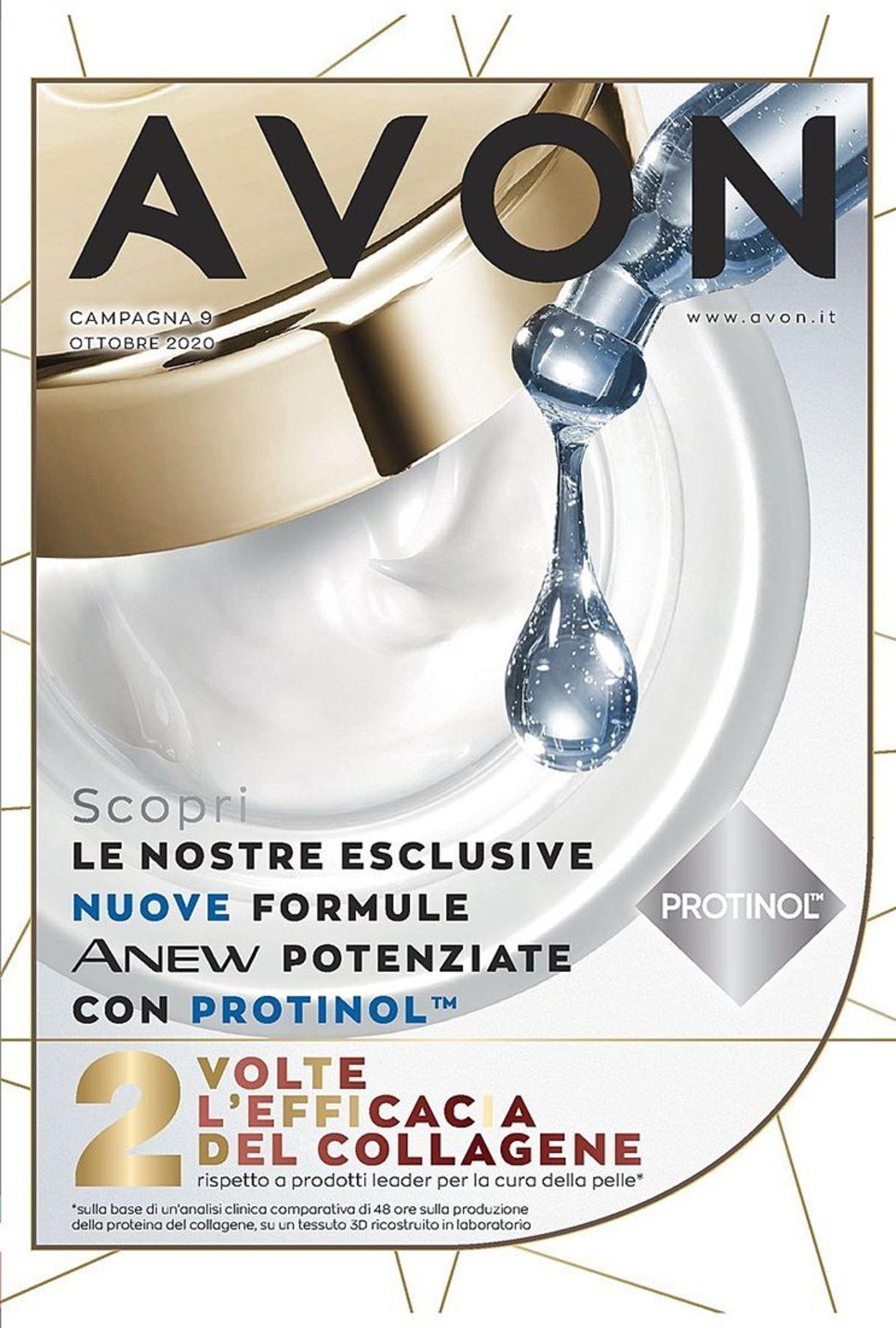 Volantino Avon - Offerte 01/10-31/10/2020
