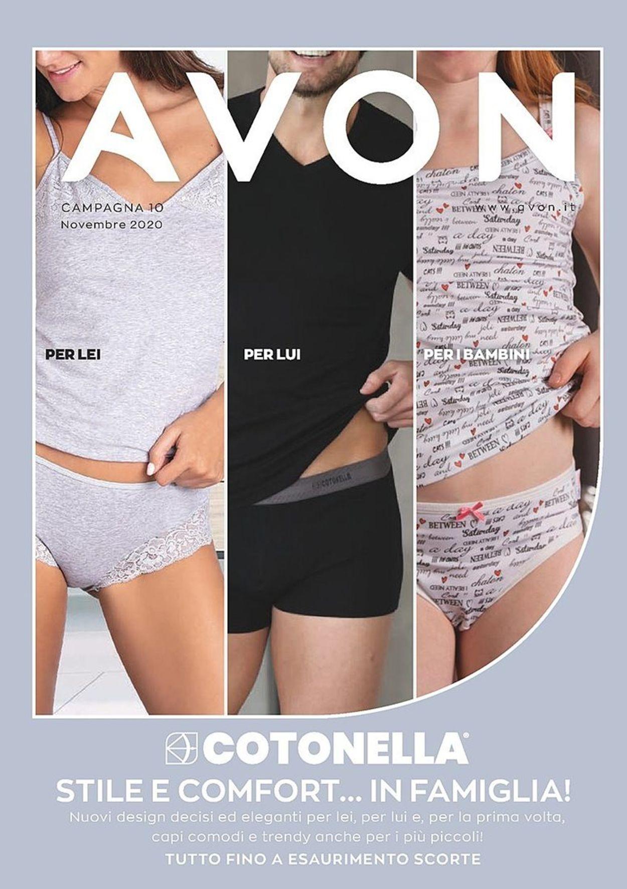 Volantino Avon - Offerte 02/11-30/11/2020