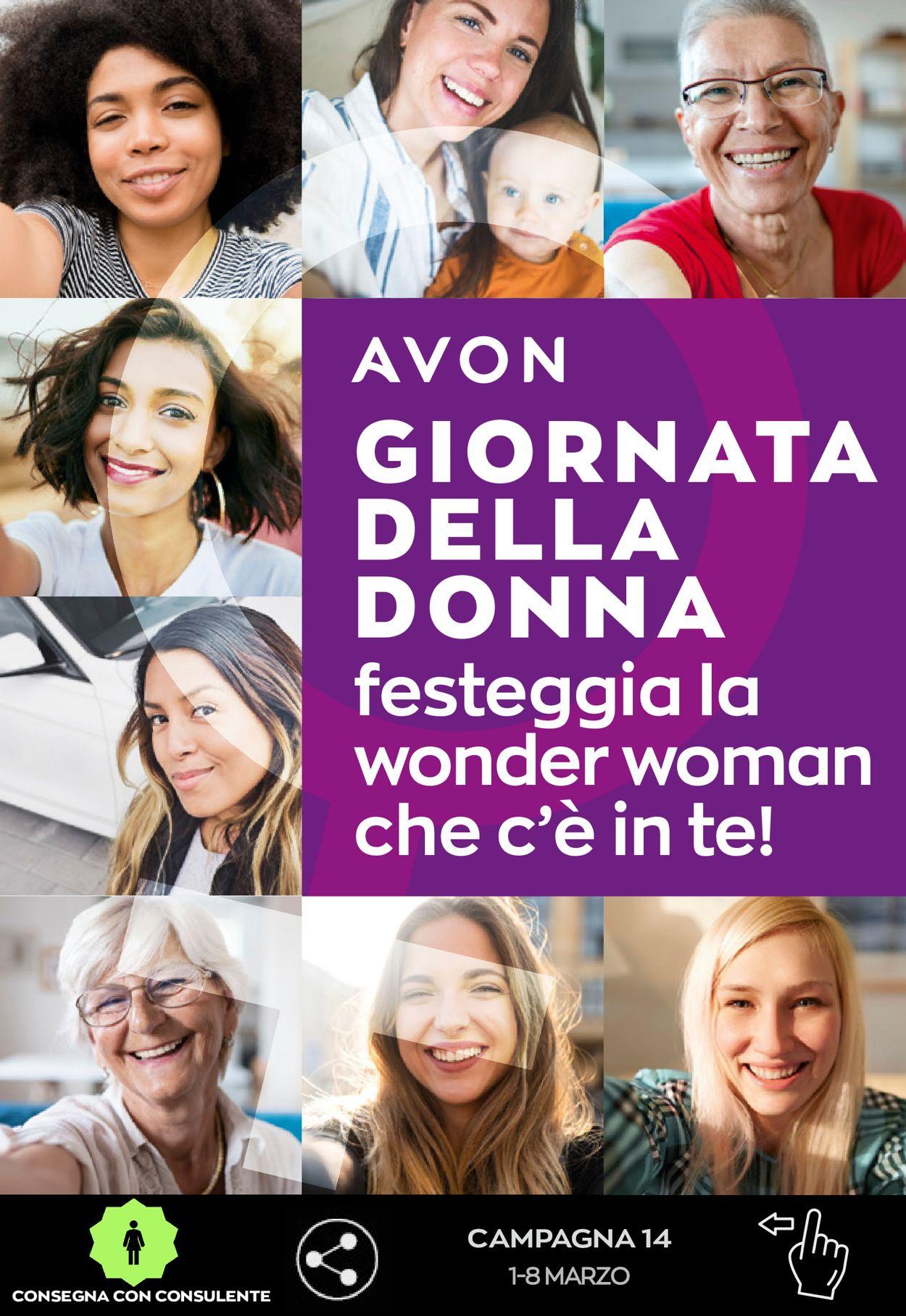Volantino Avon - Offerte 01/03-08/03/2021