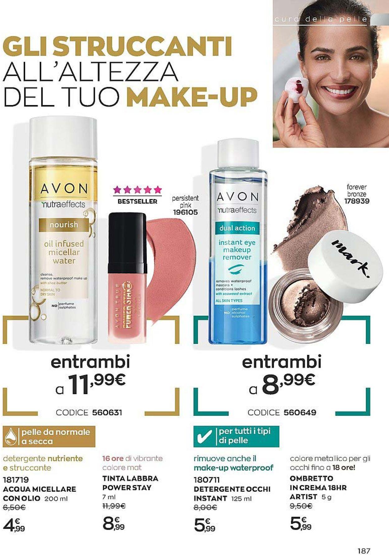 Volantino Avon - Offerte 01/05-31/05/2021 (Pagina 189)
