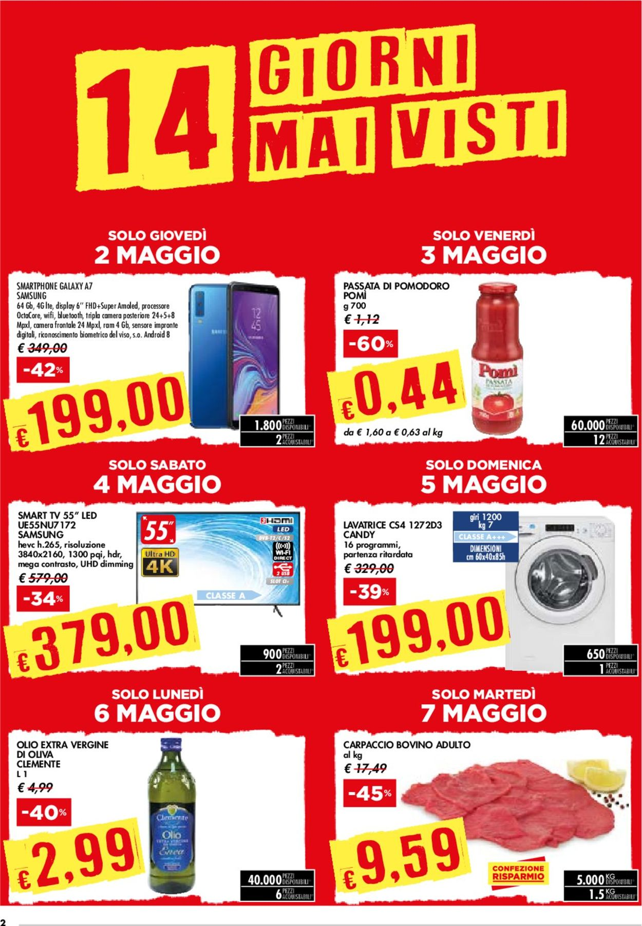 Volantino bennet - Offerte 02/05-15/05/2019 (Pagina 2)