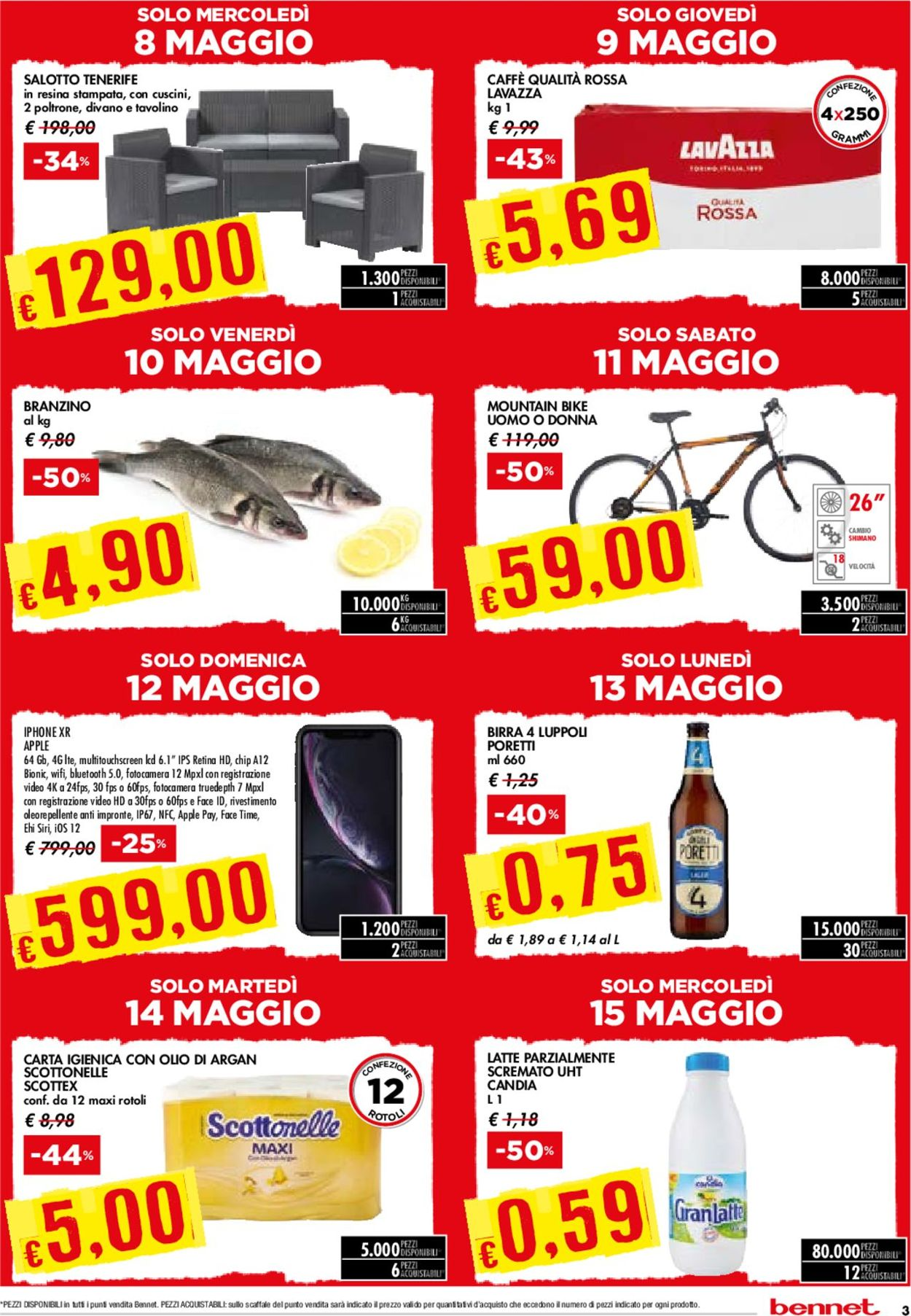 Volantino bennet - Offerte 02/05-15/05/2019 (Pagina 3)