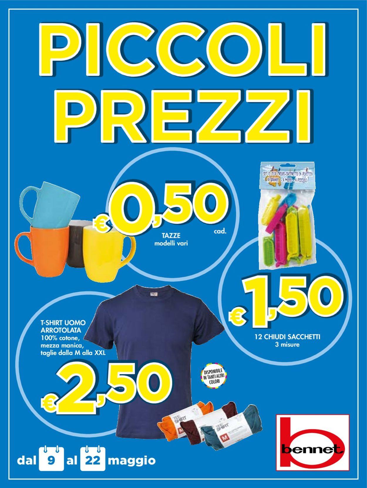 Volantino bennet - Offerte 09/05-22/05/2019
