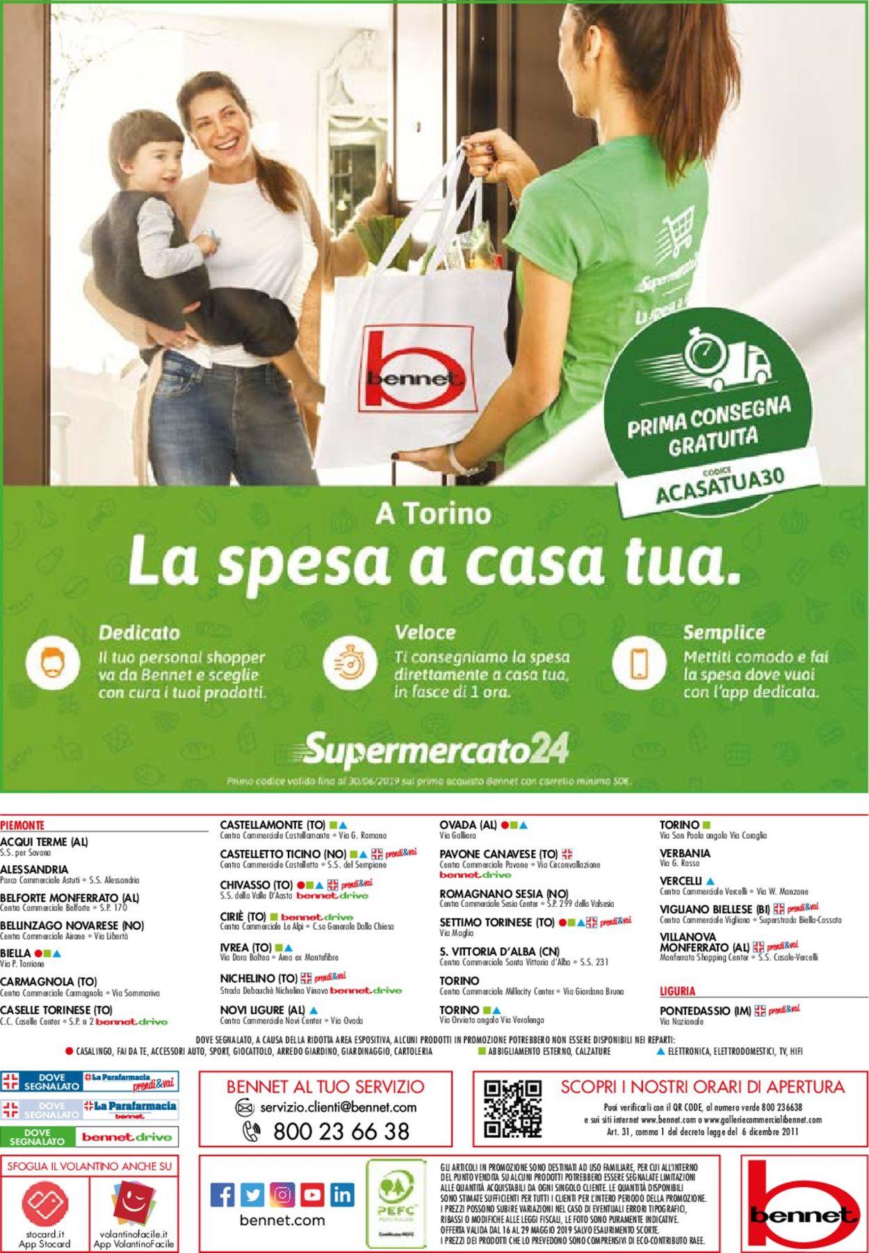 Volantino bennet - Offerte 16/05-29/05/2019 (Pagina 32)